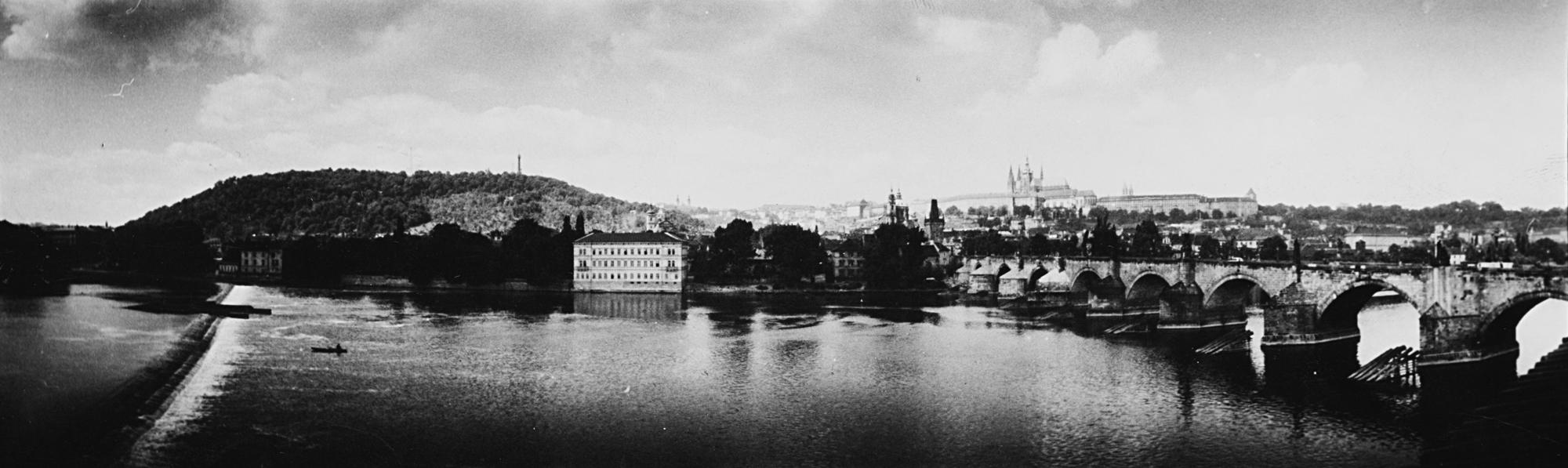 Prague – Panorama, 1946