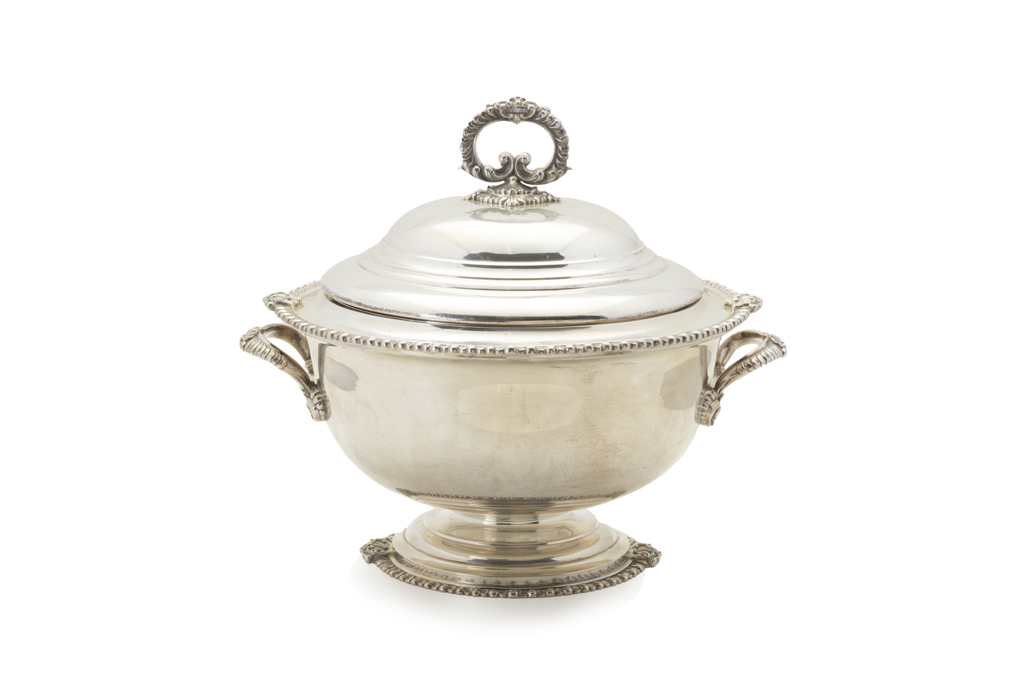 zuppiera in argento, Italia XX secolo