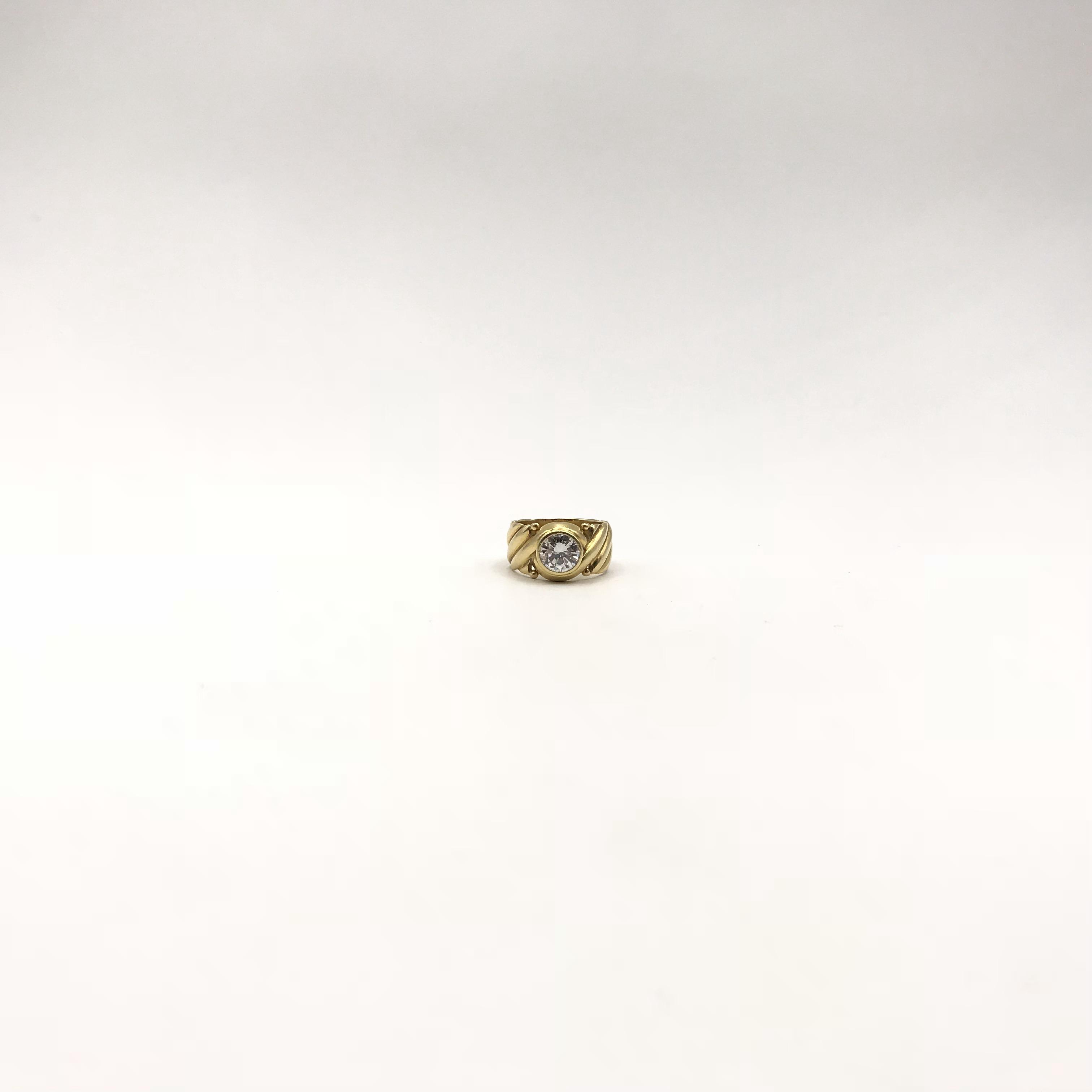 in oro e diamante