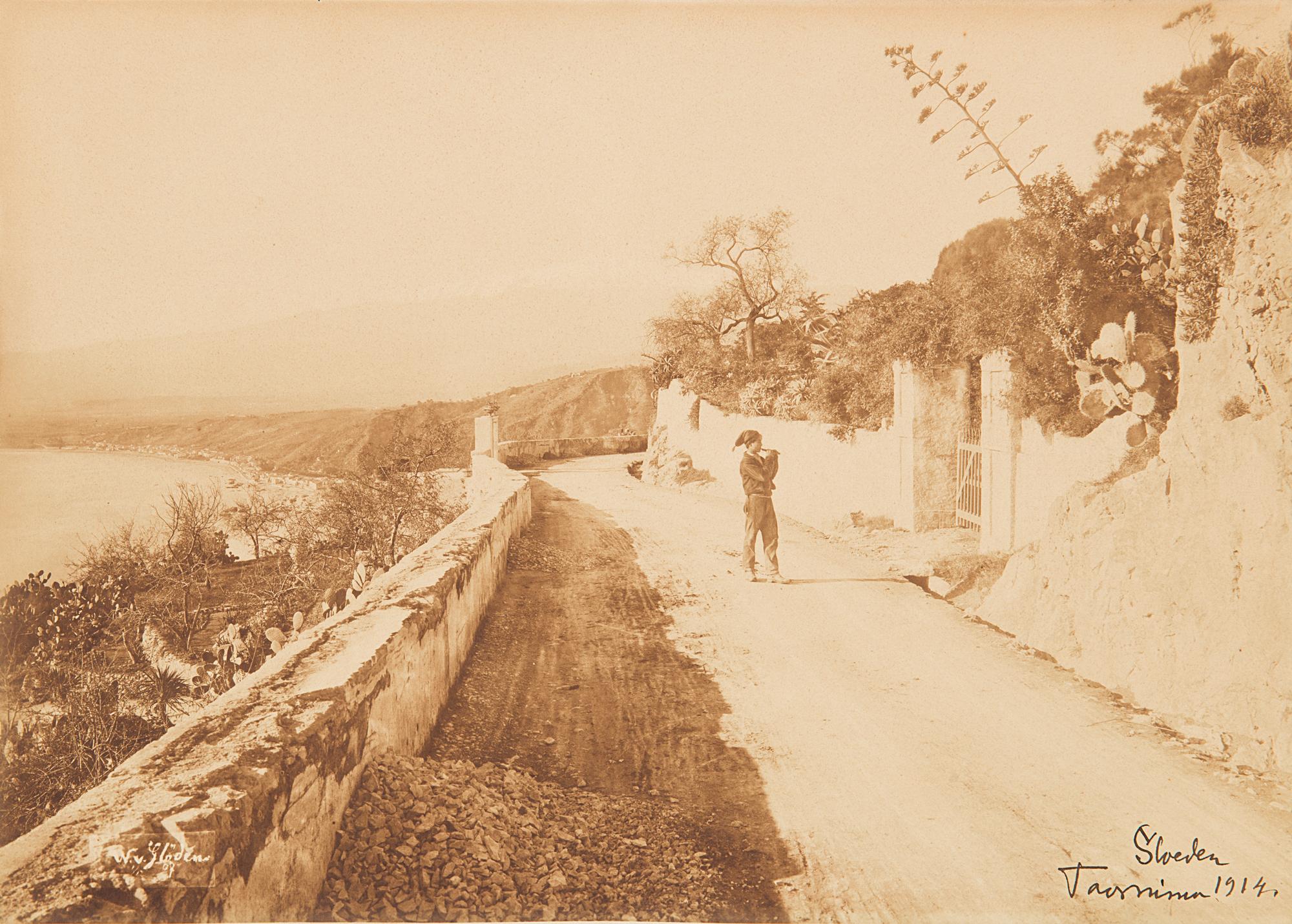 Giovane siciliano, Taormina, 1914 ca.