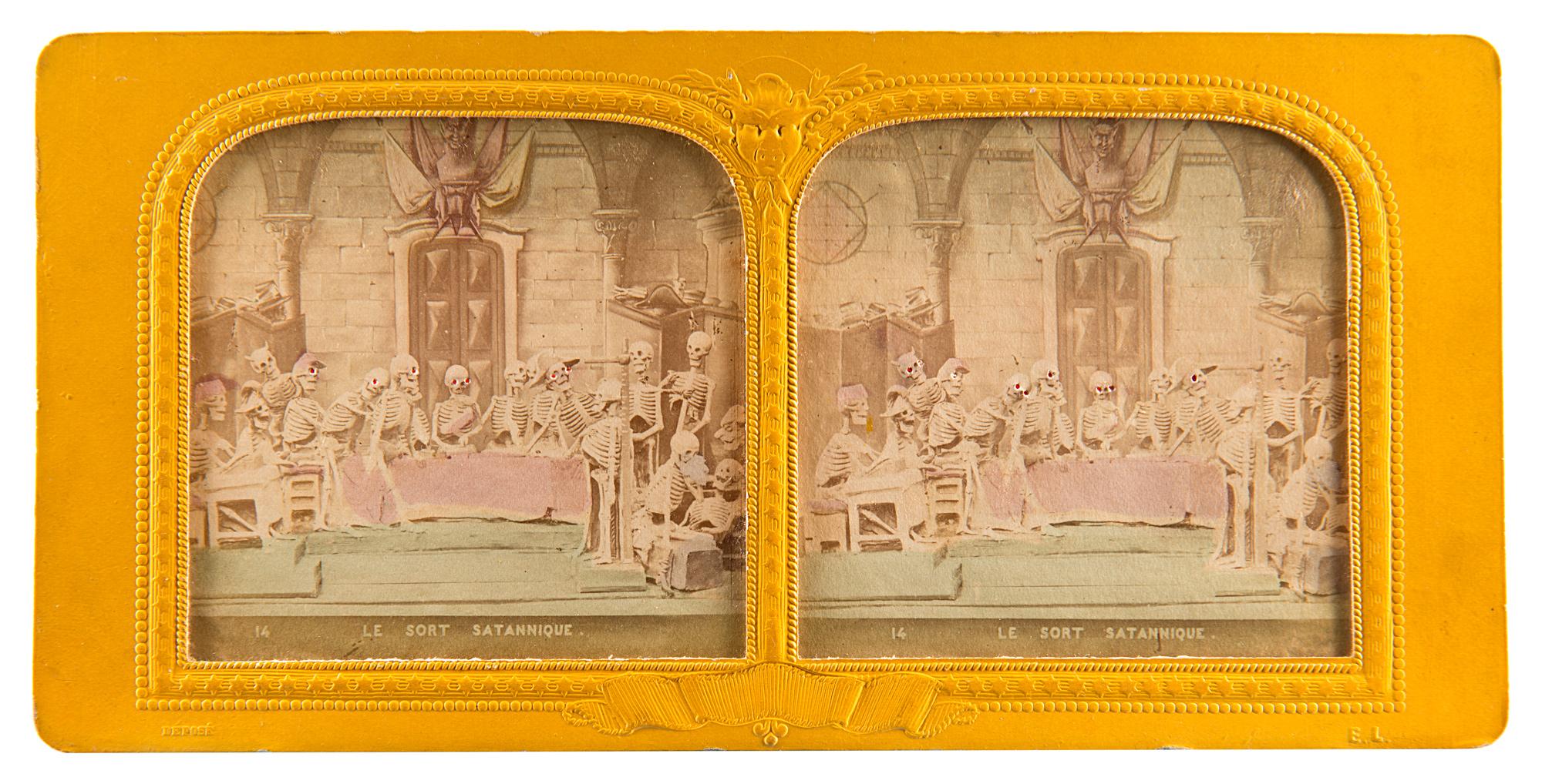 Les diableries, Paris, anni 1860