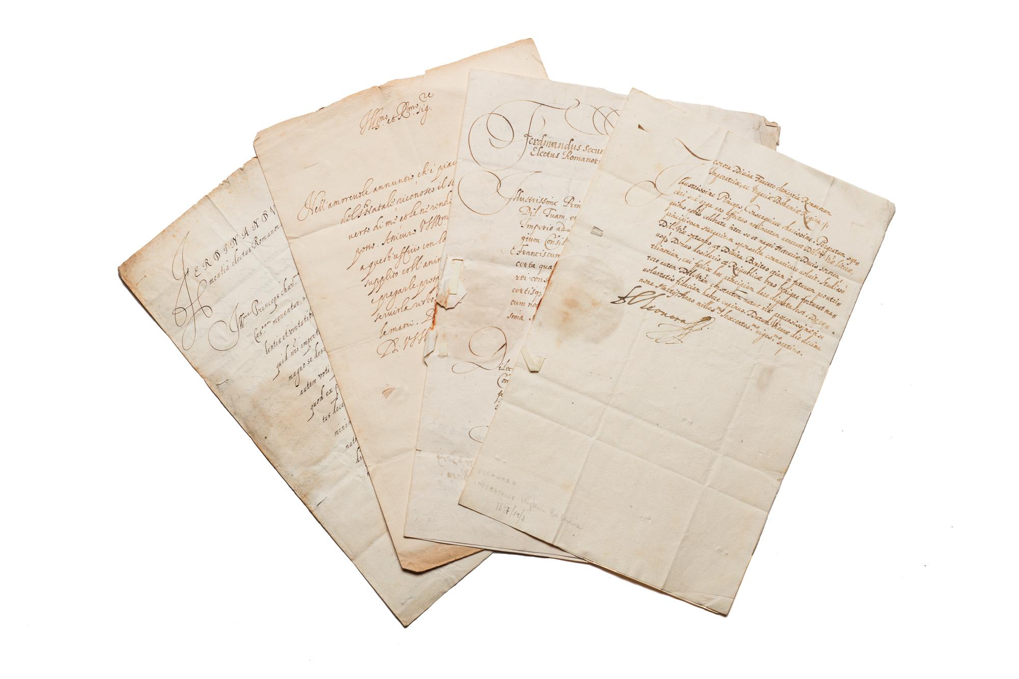 Lettere indirizzate a Principi Farnesi