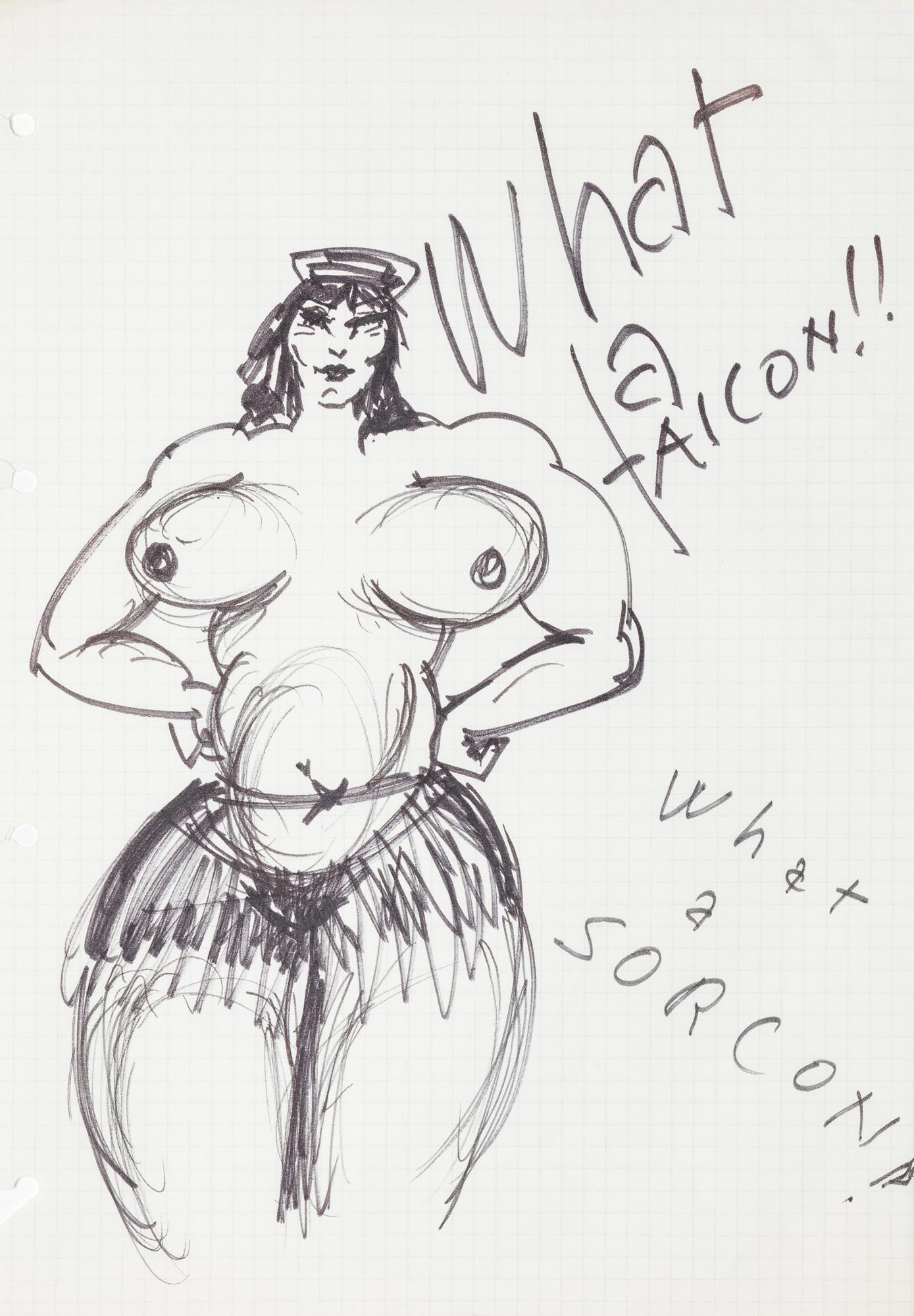 Caricature donne