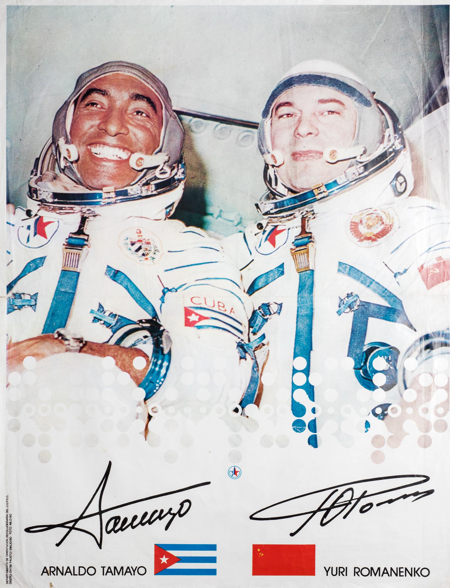 Primer vuelo conjunto sovietico-cubano (Arnaldo Tamayo e Yuri Romanenko)