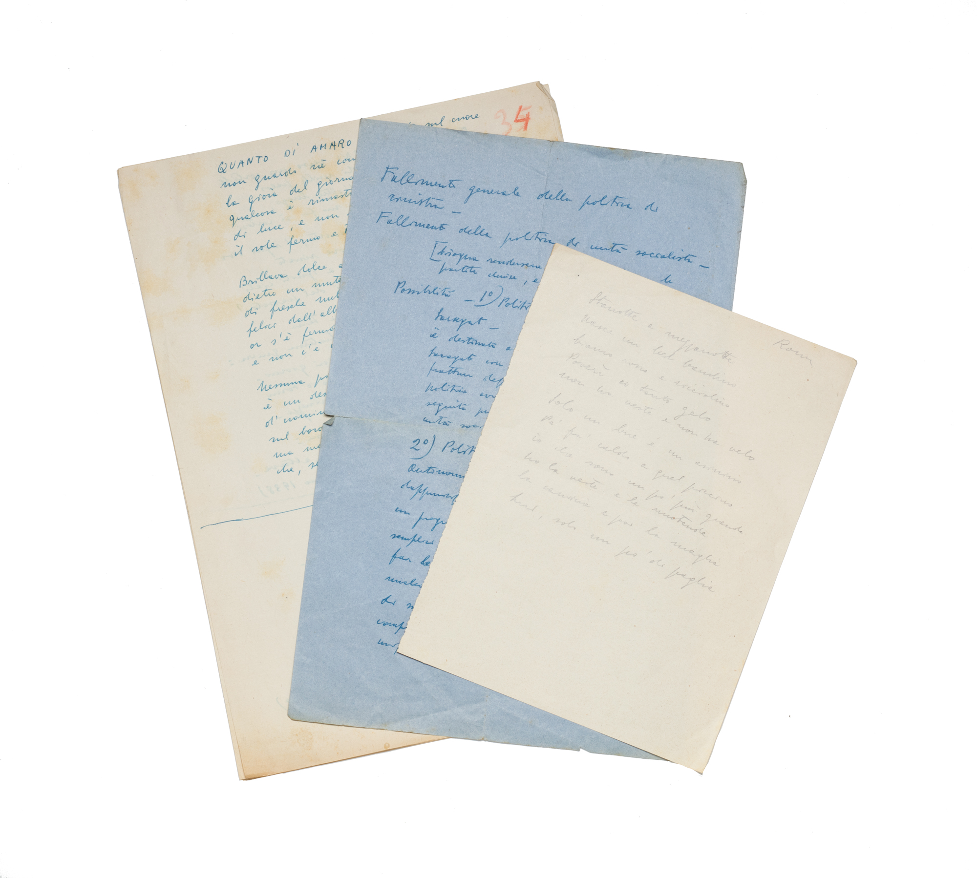Appunti, note e poesie