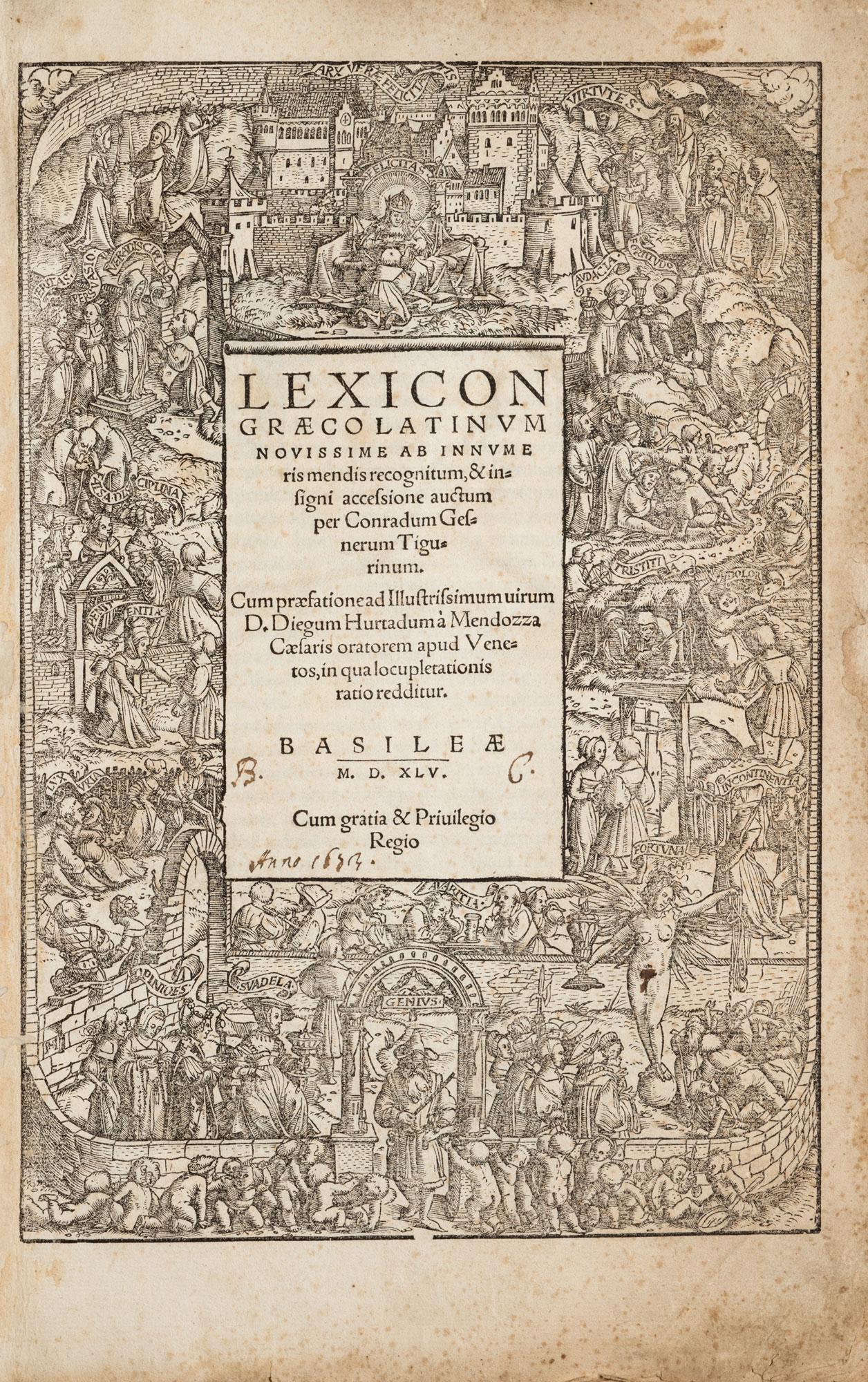 Lexicon Graecolatinum …