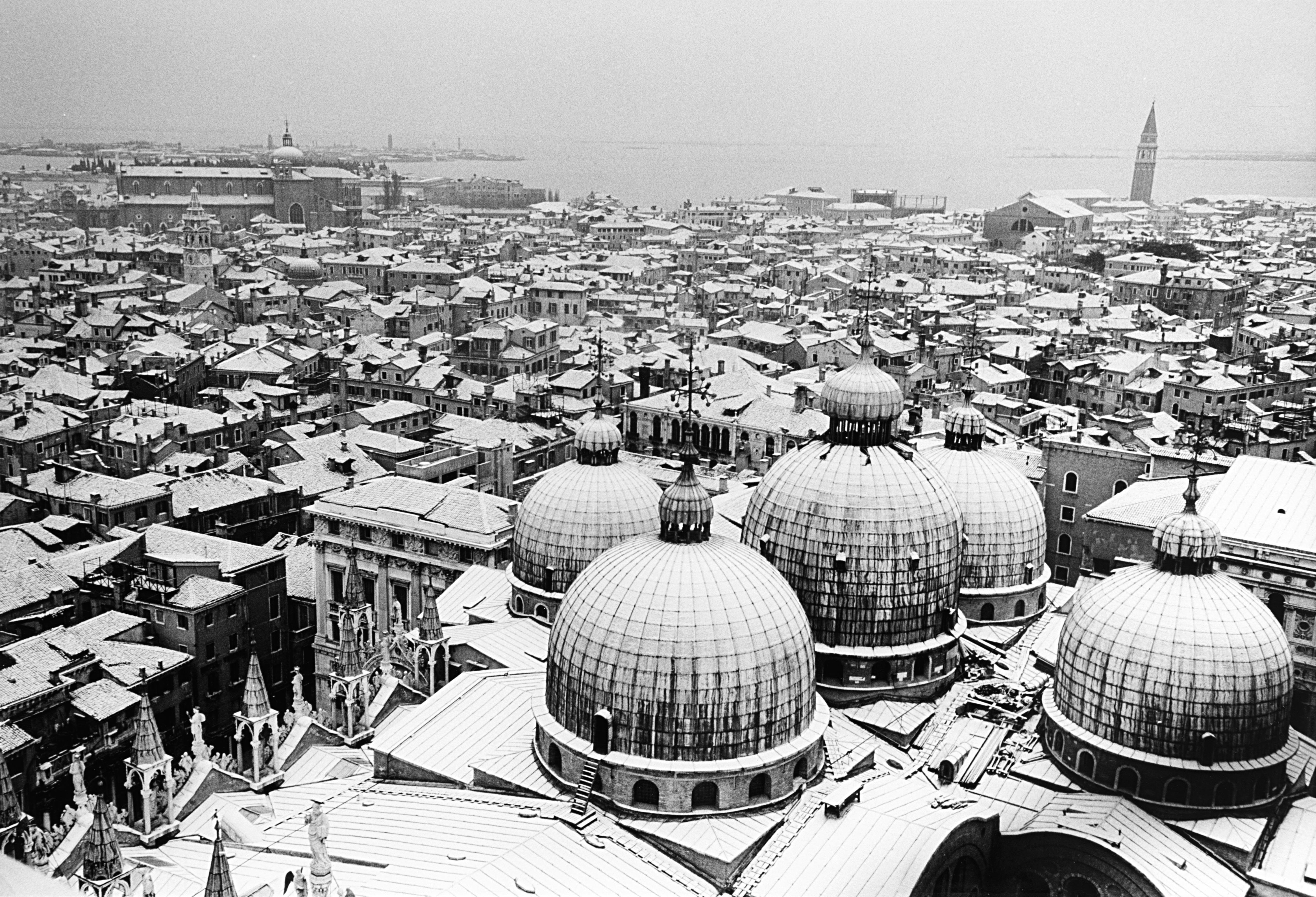 Venezia sotto la neve, anni 1960