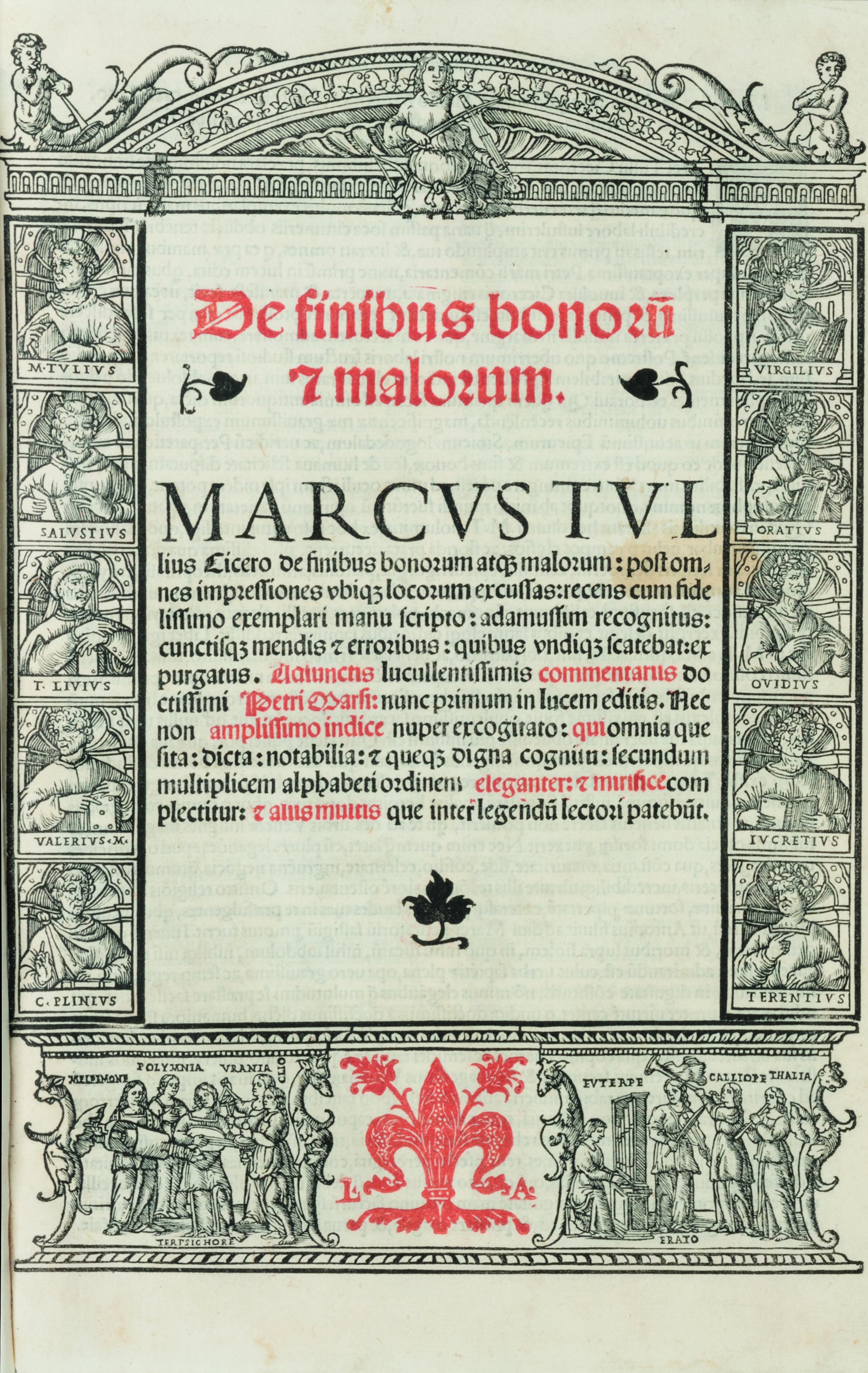 De finibus bonorum & malorum