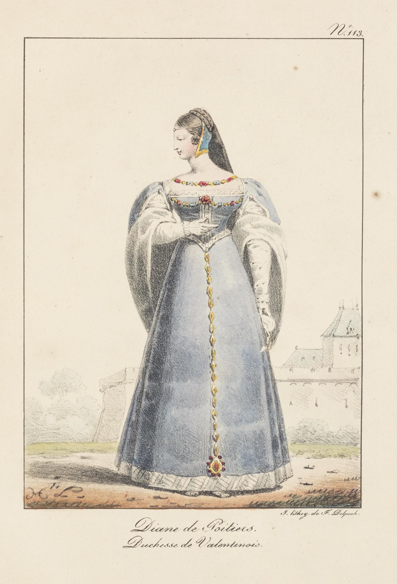 Costumes civils et militaires de la Monarchie Française depuis 1200 jusqu'a 1820