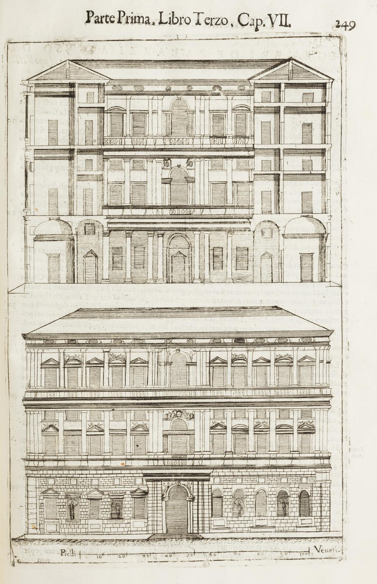 Dell'idea dell'architettura universale Parte Prima, Libro Primo – [Parte Seconda, Libro ottavo]