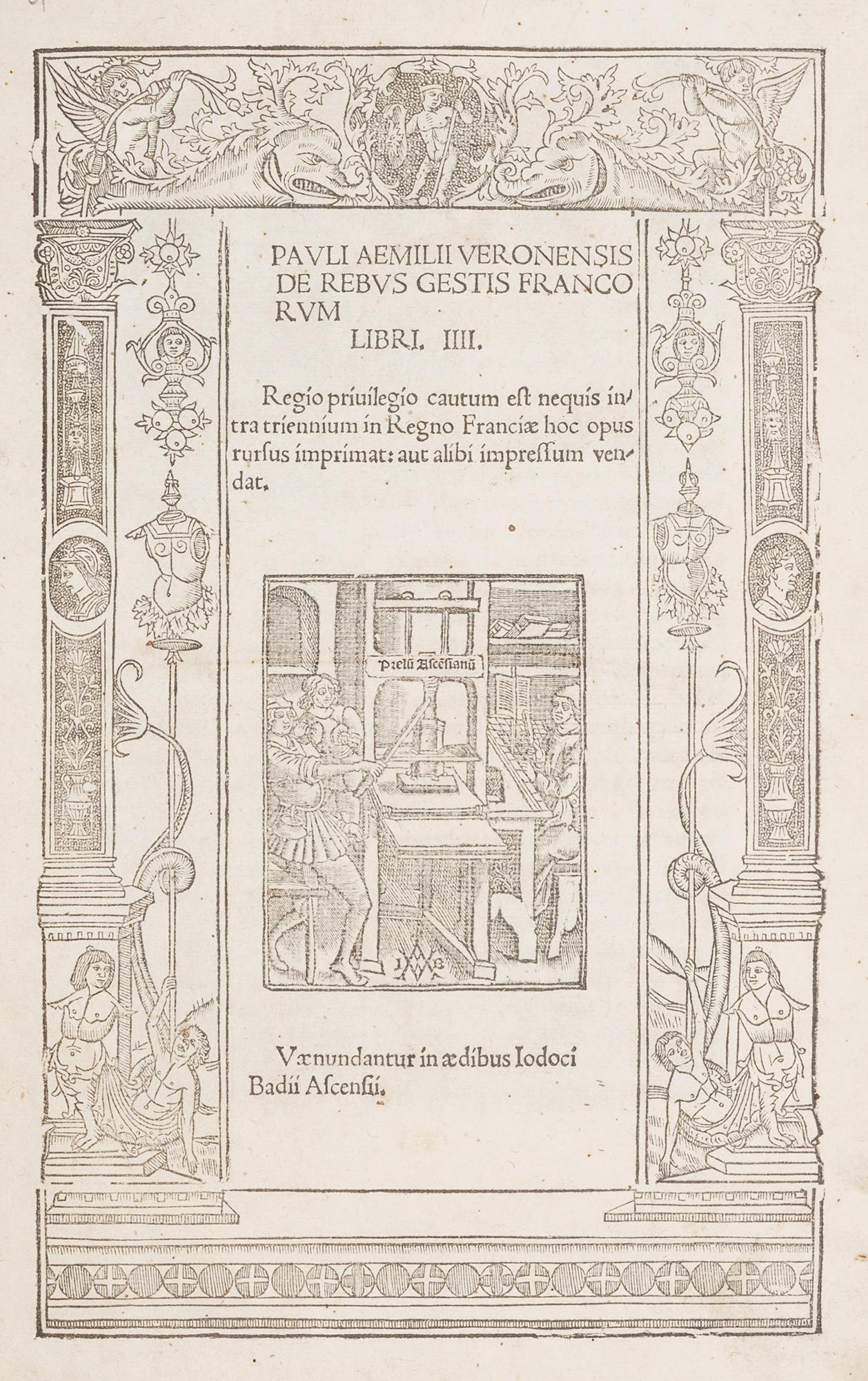 Pauli Aemilii Veronensis De rebus gestis Francorum libri IIII