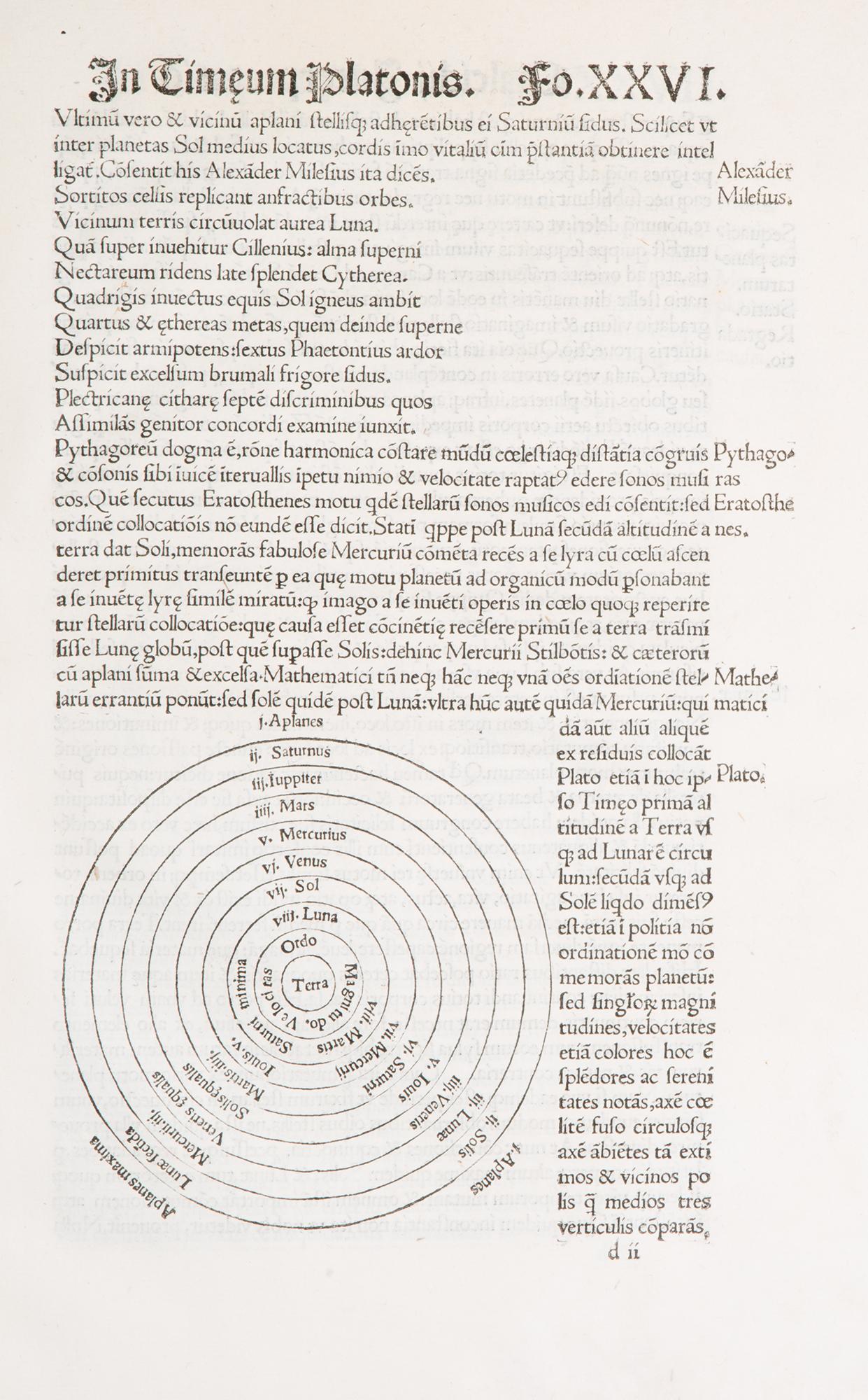 Chalcidij Viri Clarissimi Luculenta Timaei Platonis traductio, & eiusdem argutissima explanatio