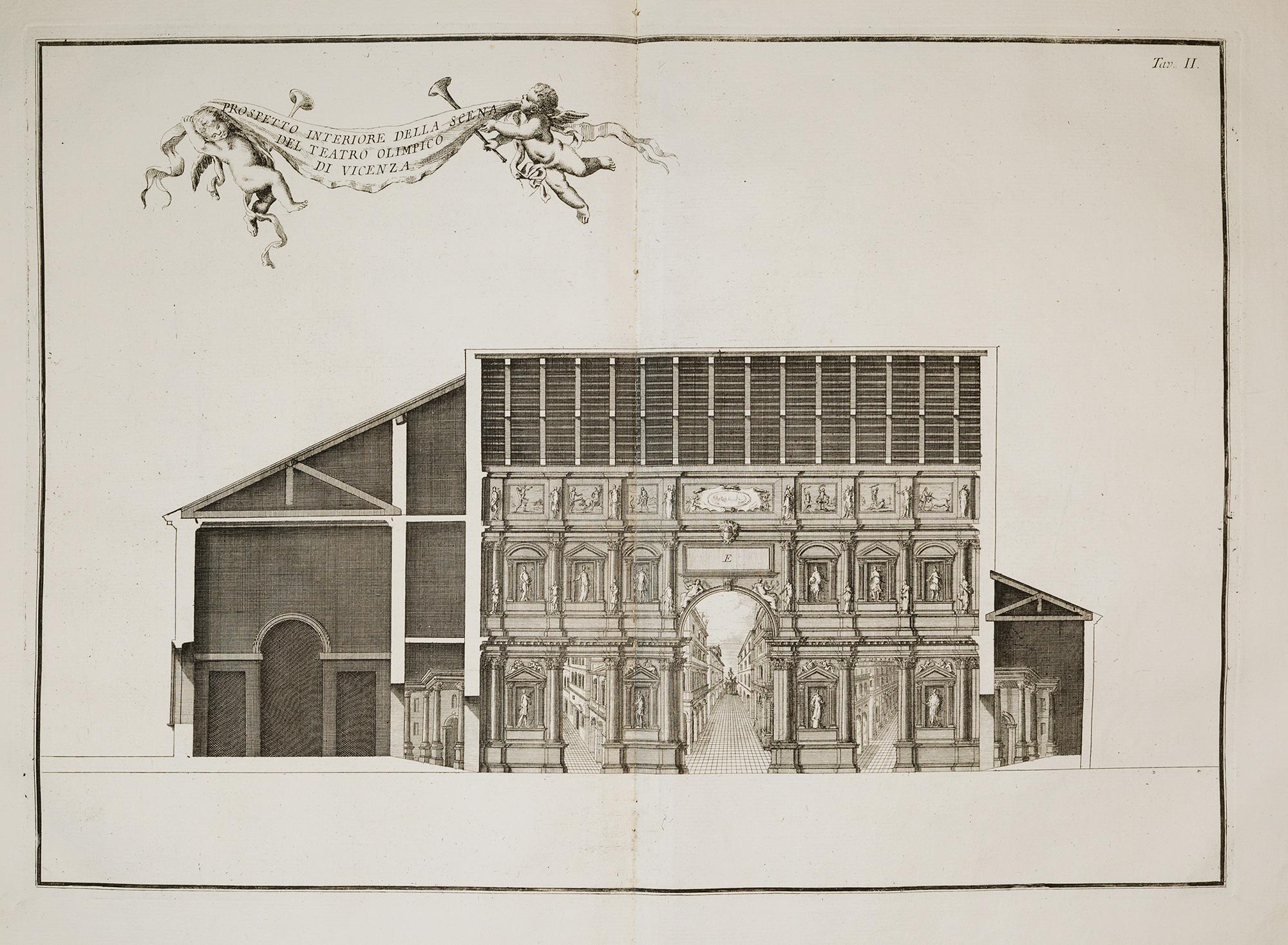 Delle fabbriche inedite di Andrea Palladio vicentino arricchite di tavole diligentemente incise in rame, con le osservazioni dell'architetto N. N. e con la traduzione francese