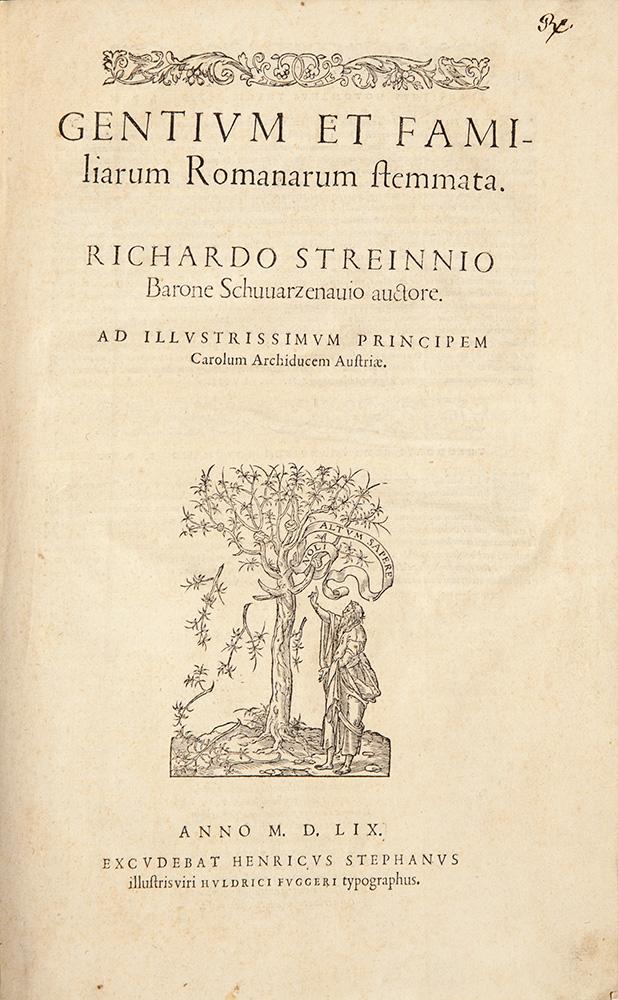 Gentium et familiarum romanarum stemmata