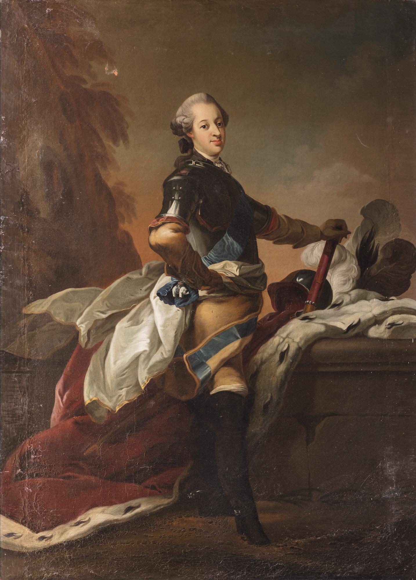 Ritratto di Federico V di Danimarca in uniforme