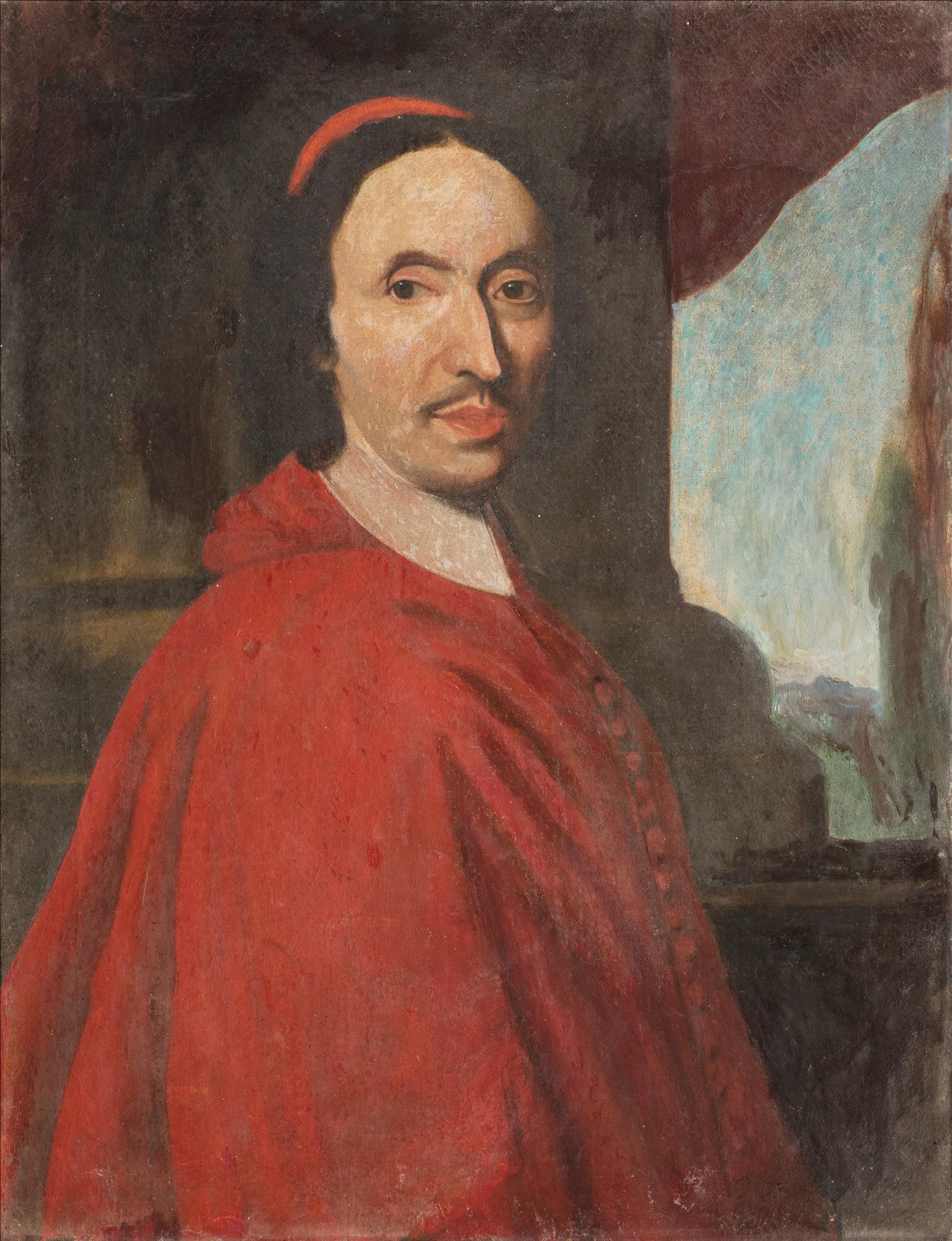 Ritratto di cardinale a mezzo busto