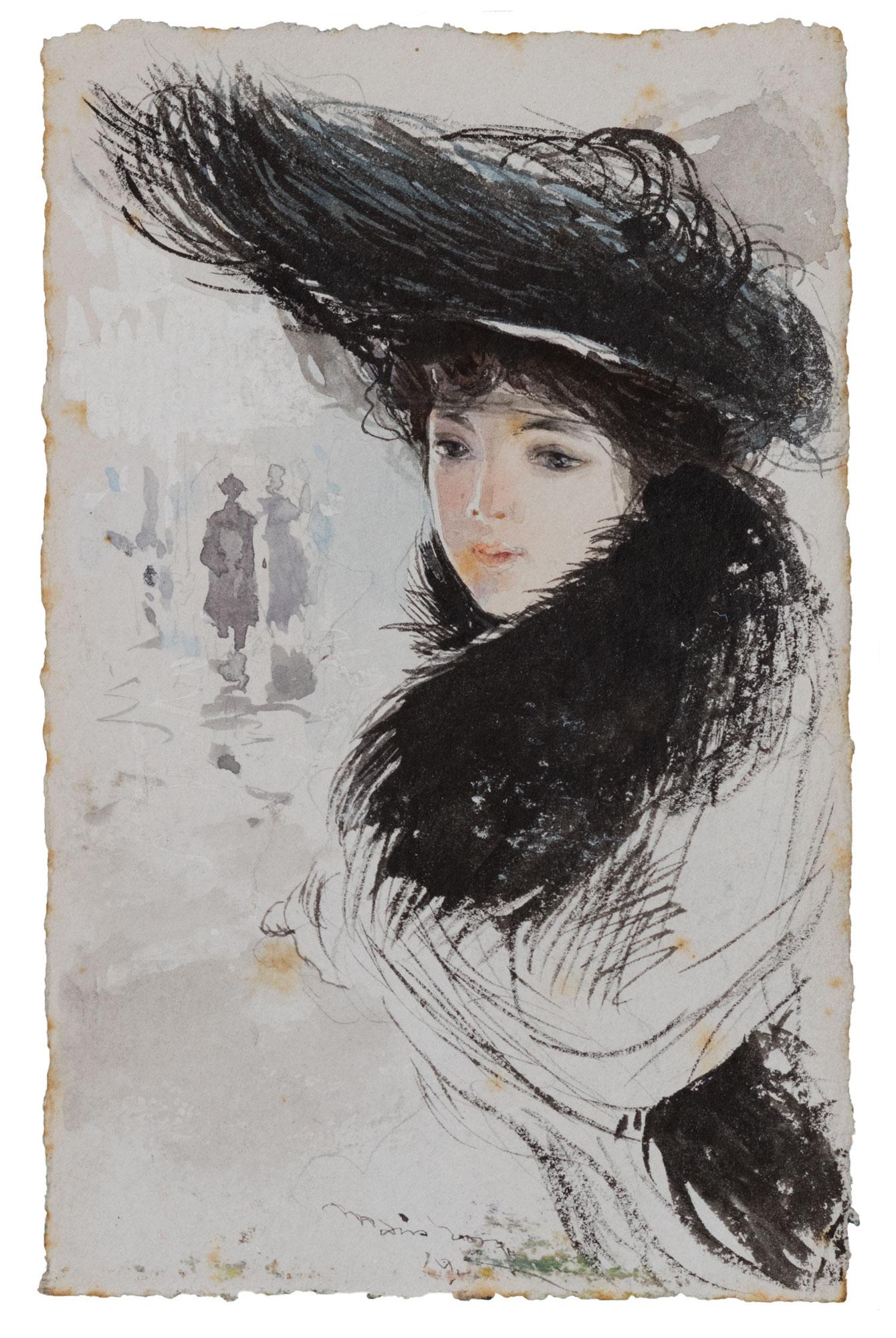 Giovane donna elegante, 1904
