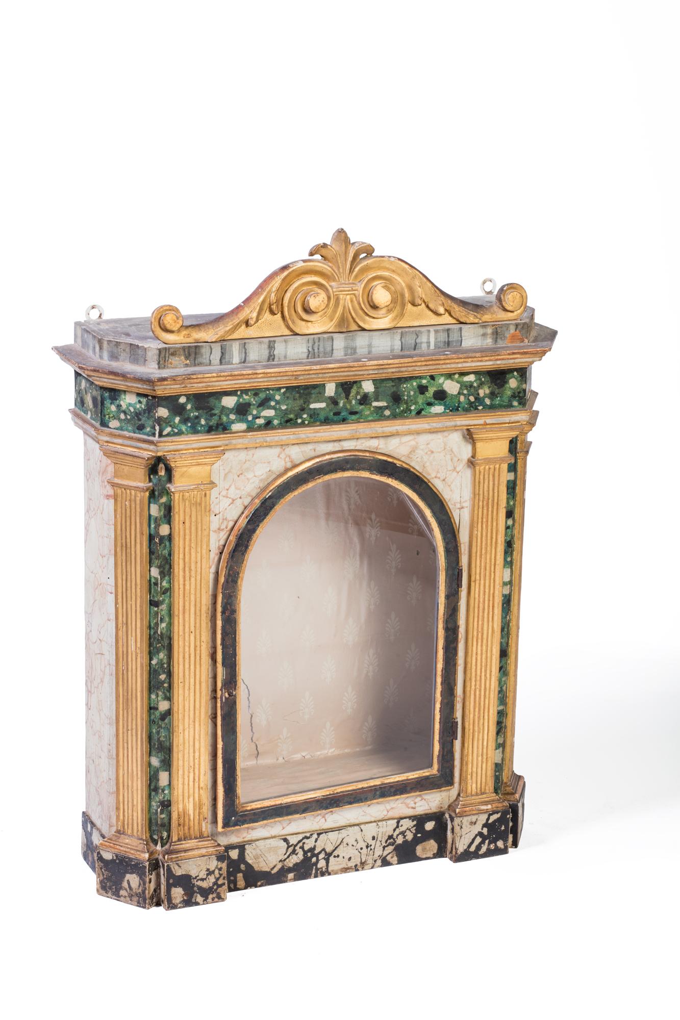 Edicola votiva, secolo XVIII