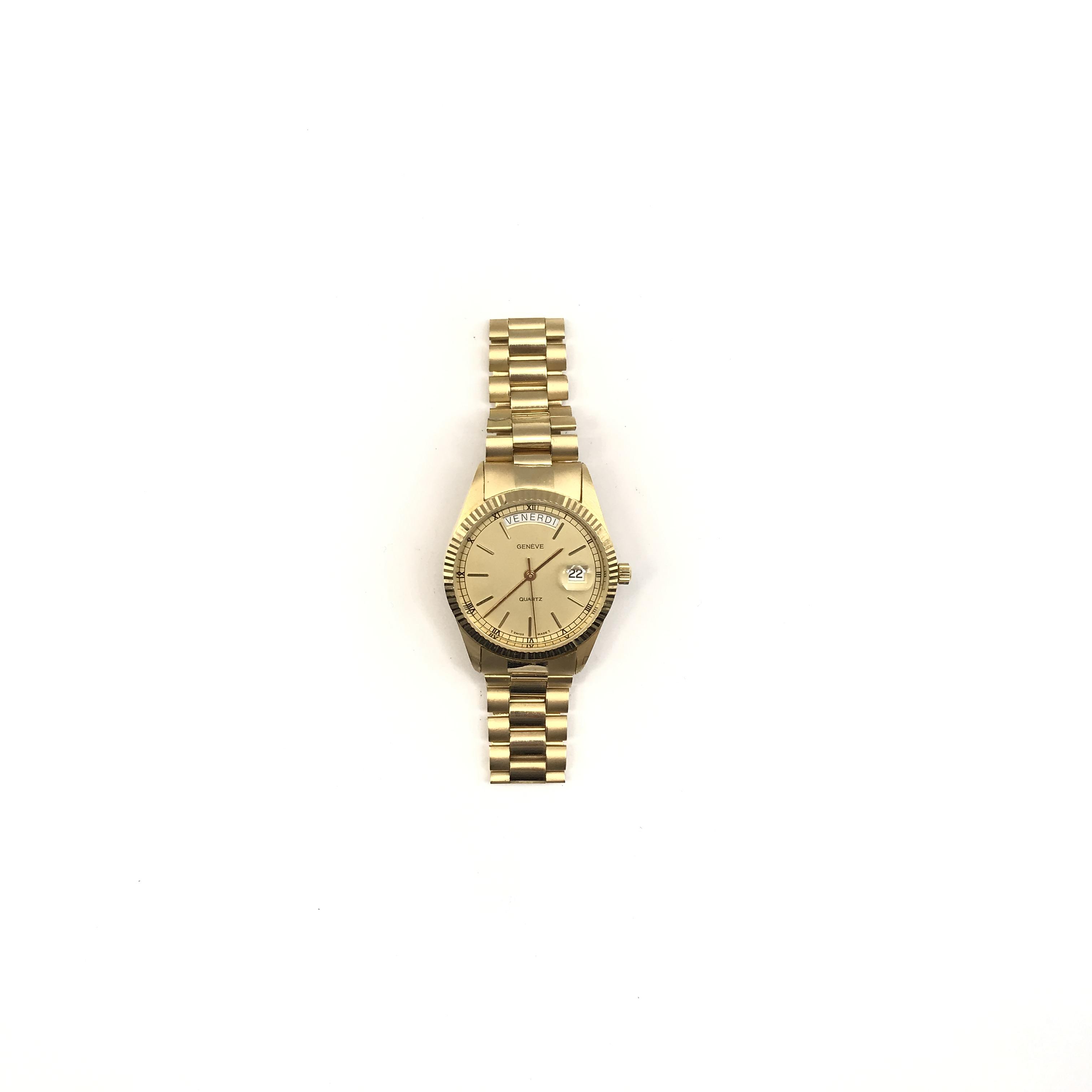 vendita professionale genuino vasta selezione di Geneve orologio in oro 18kt - Jewellery, Watches and Silver ...