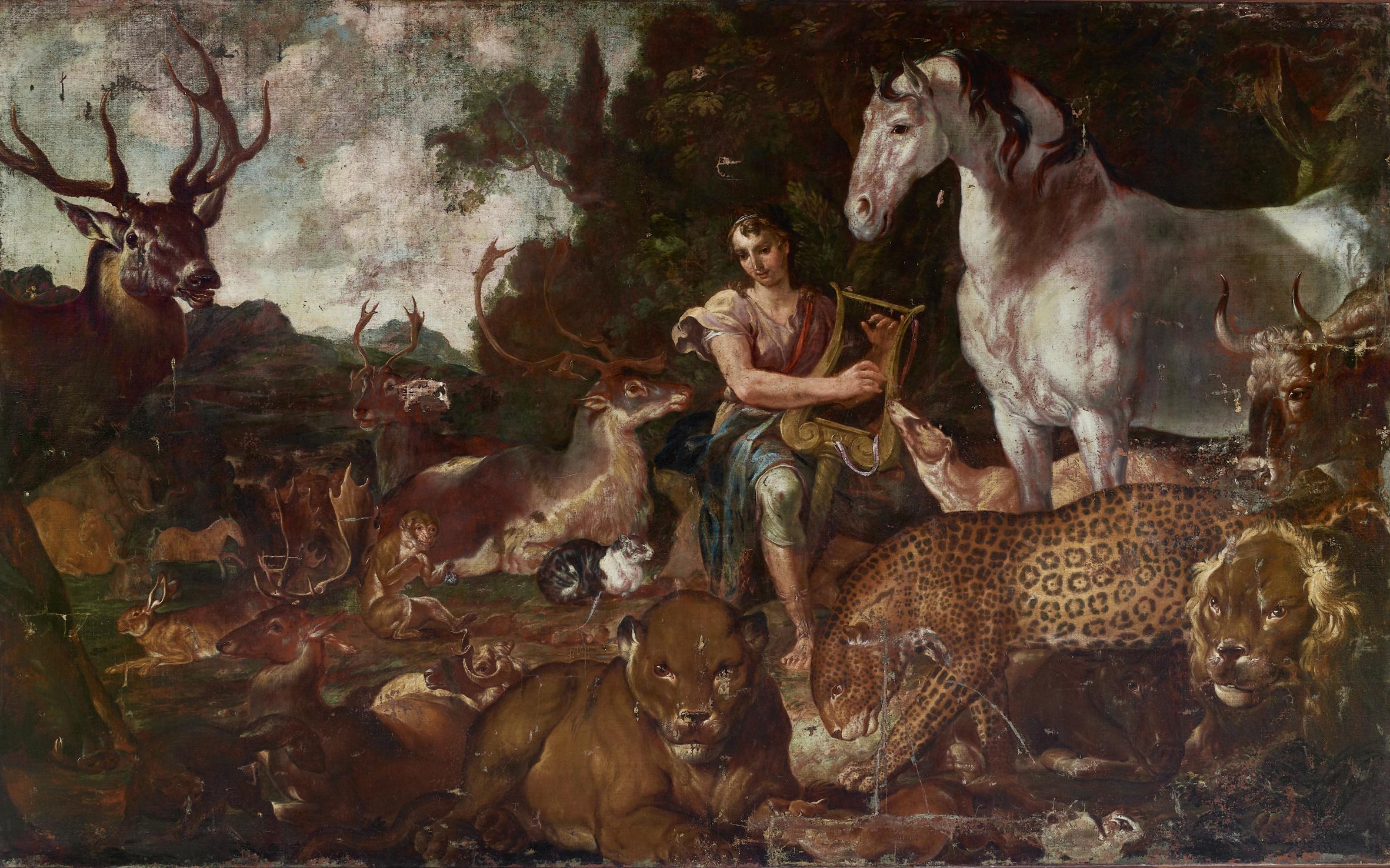 Orfeo incanta gli animali