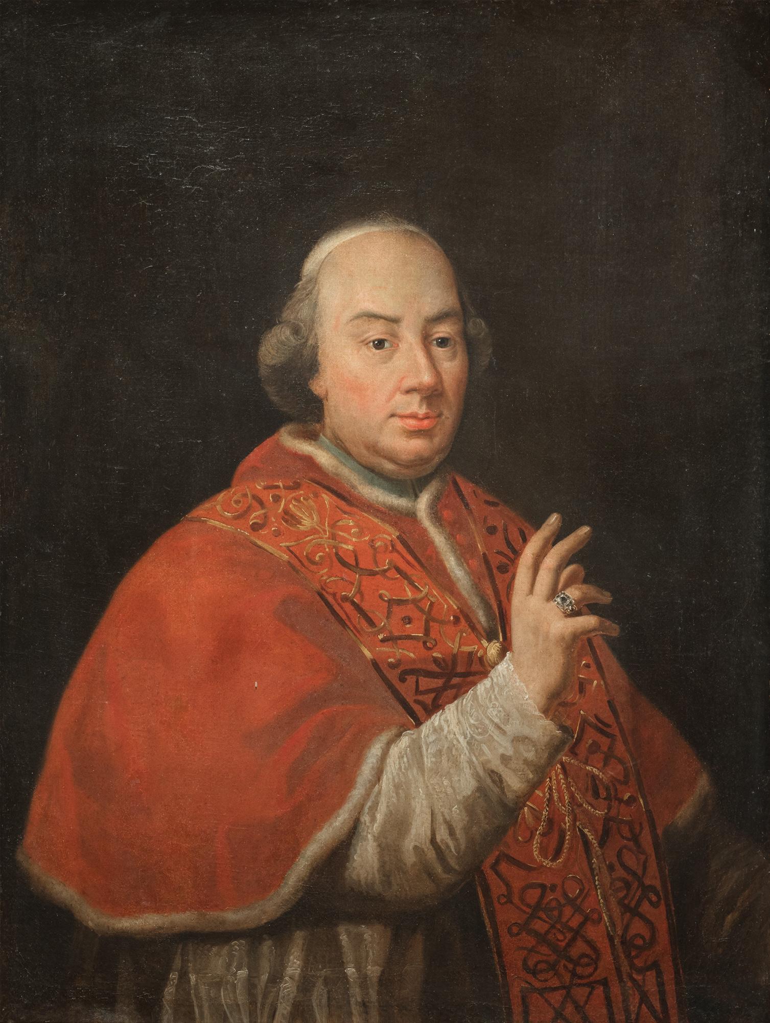 Ritratto di papa Pio VI Braschi
