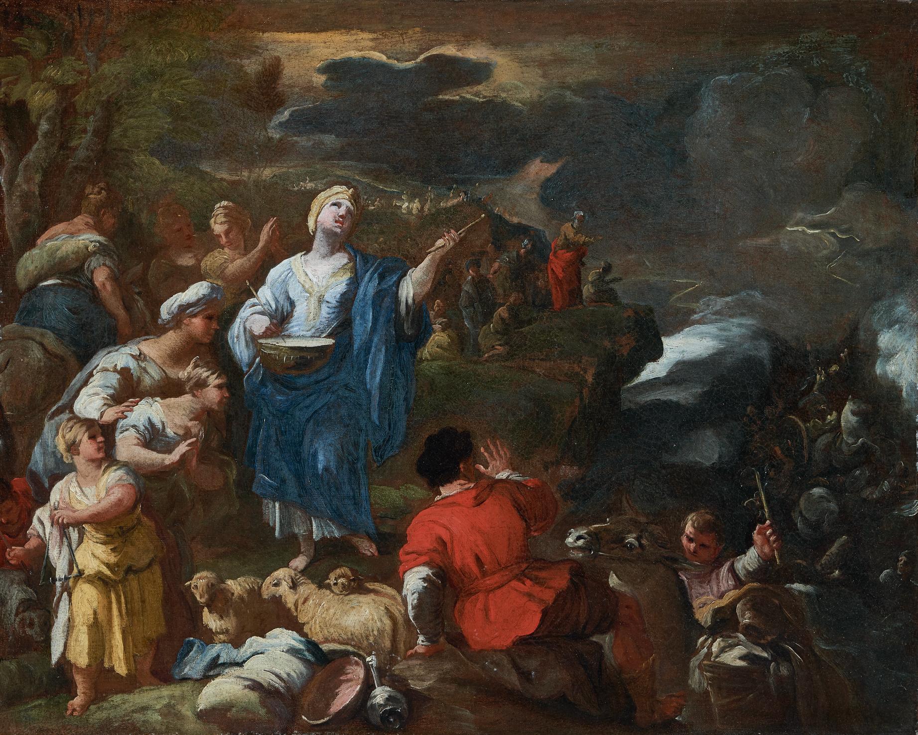 Miriam e le donne ebree al passaggio del Mar Rosso