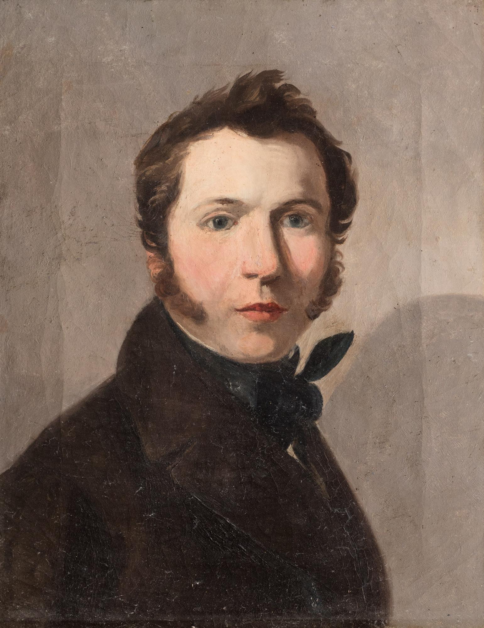 Ritratto di giovane uomo a mezzo busto