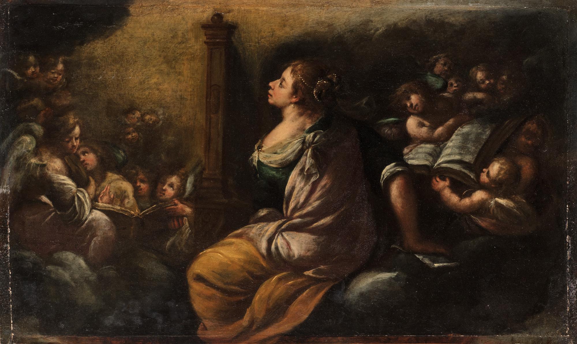 Santa Cecilia e Angeli