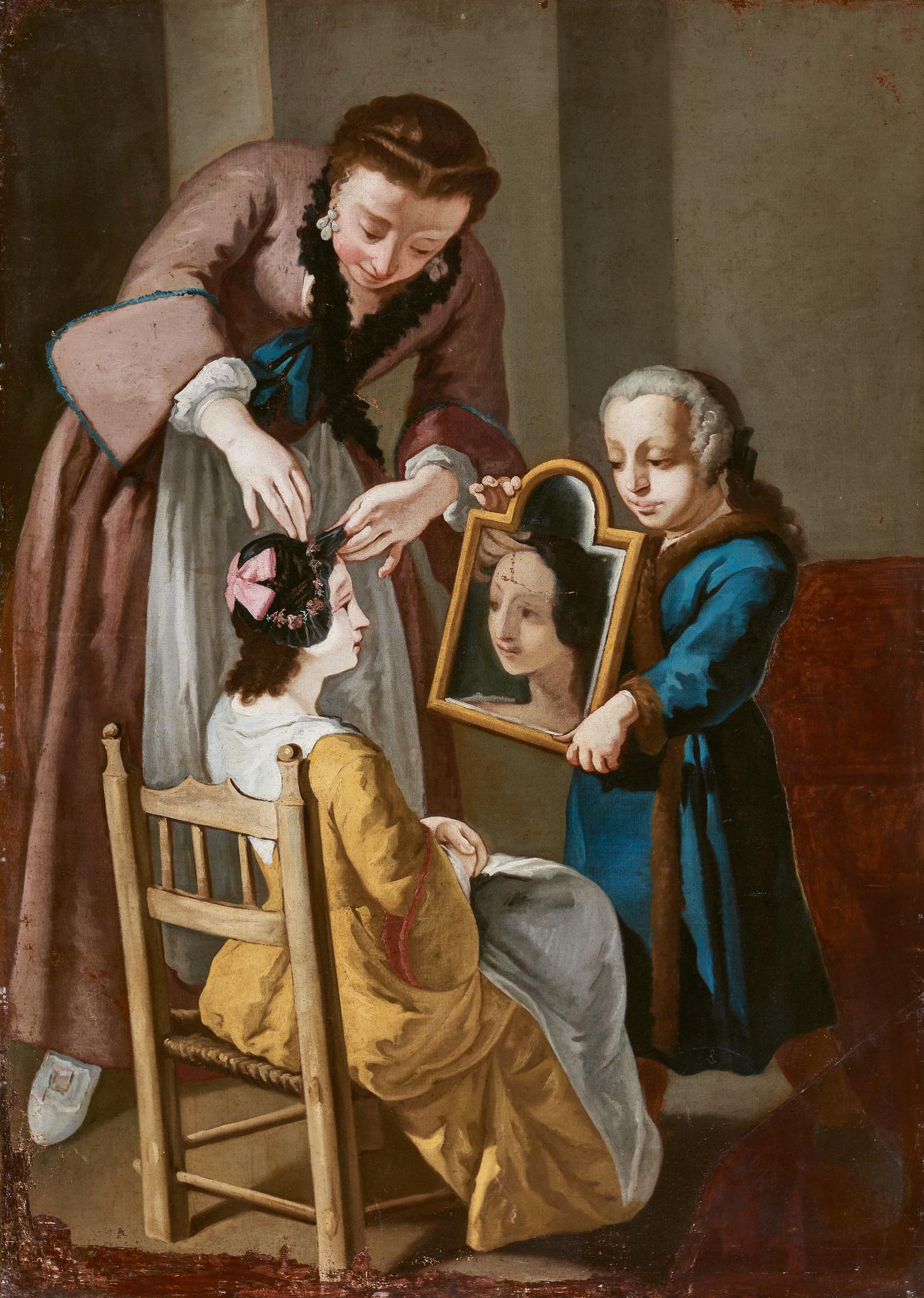La bottega della modista (frammento)