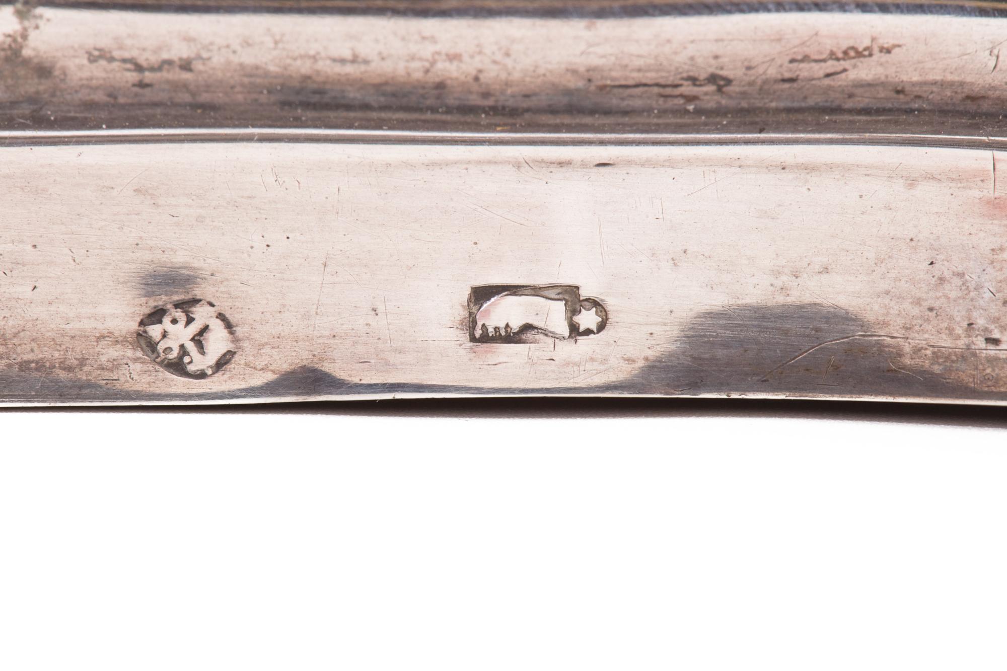 Lucerna romana in argento, argentieri Mattia Venturesi o Girolamo Francescoli, 1770 circa