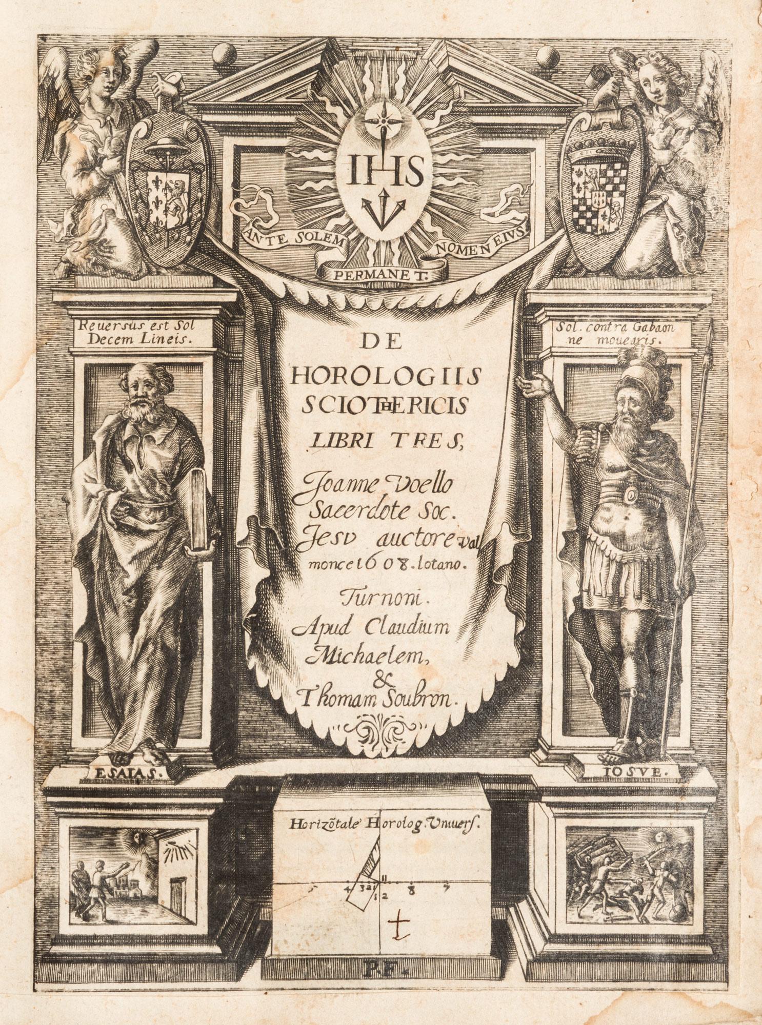De Horologiis sciothericis libri tres.