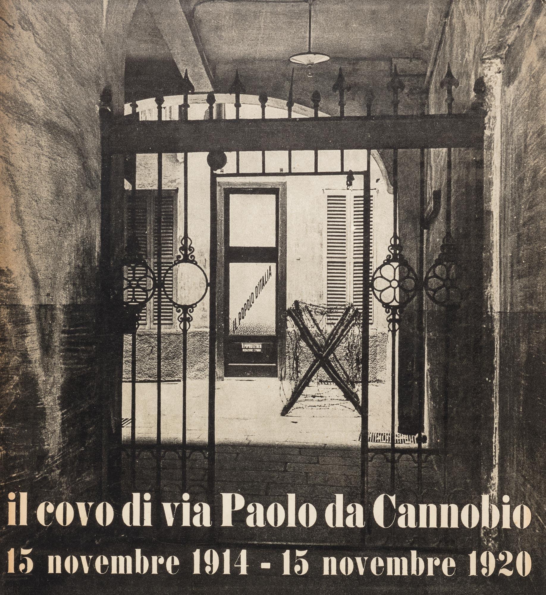 il covo di via Paolo da Cannobio