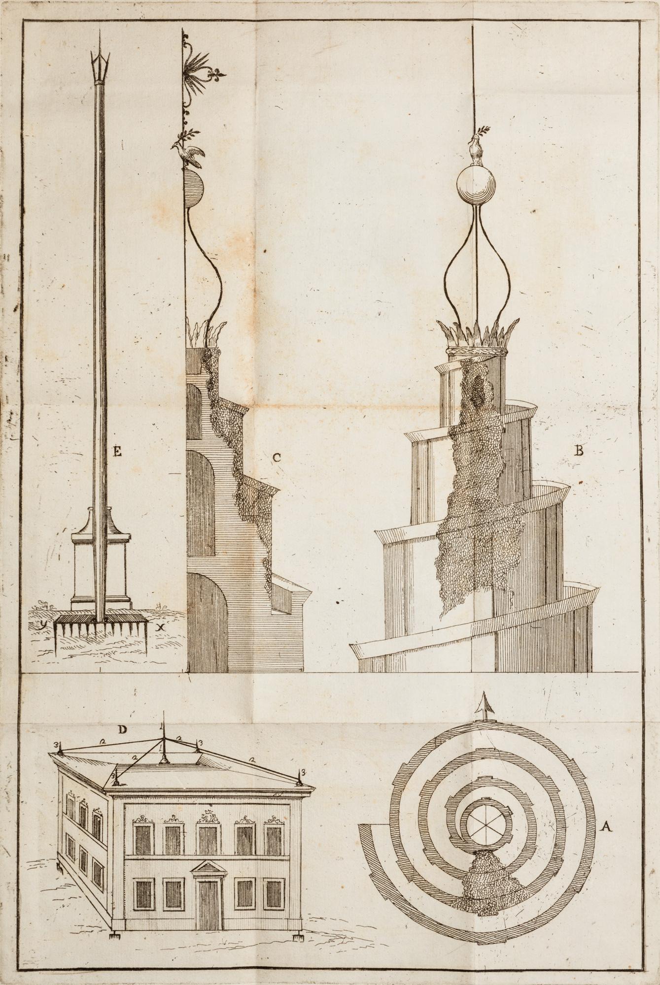 Elementi di architettura civile, e militare ad uso del collegio nazareno […]. Divisi in due parti. Parte prima (-seconda).