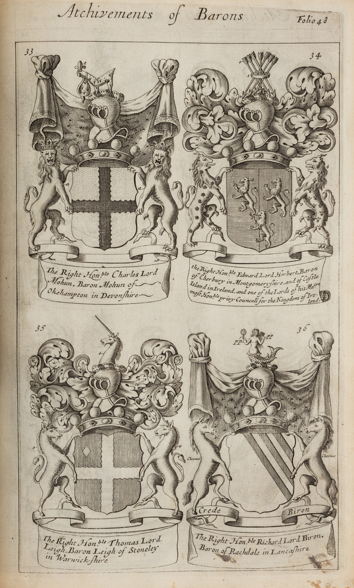 A Display of Heraldry, To which is added a Treatise of Honour Military and Civil. Analogia honorum or a treatise of honour and nobility…in two parts