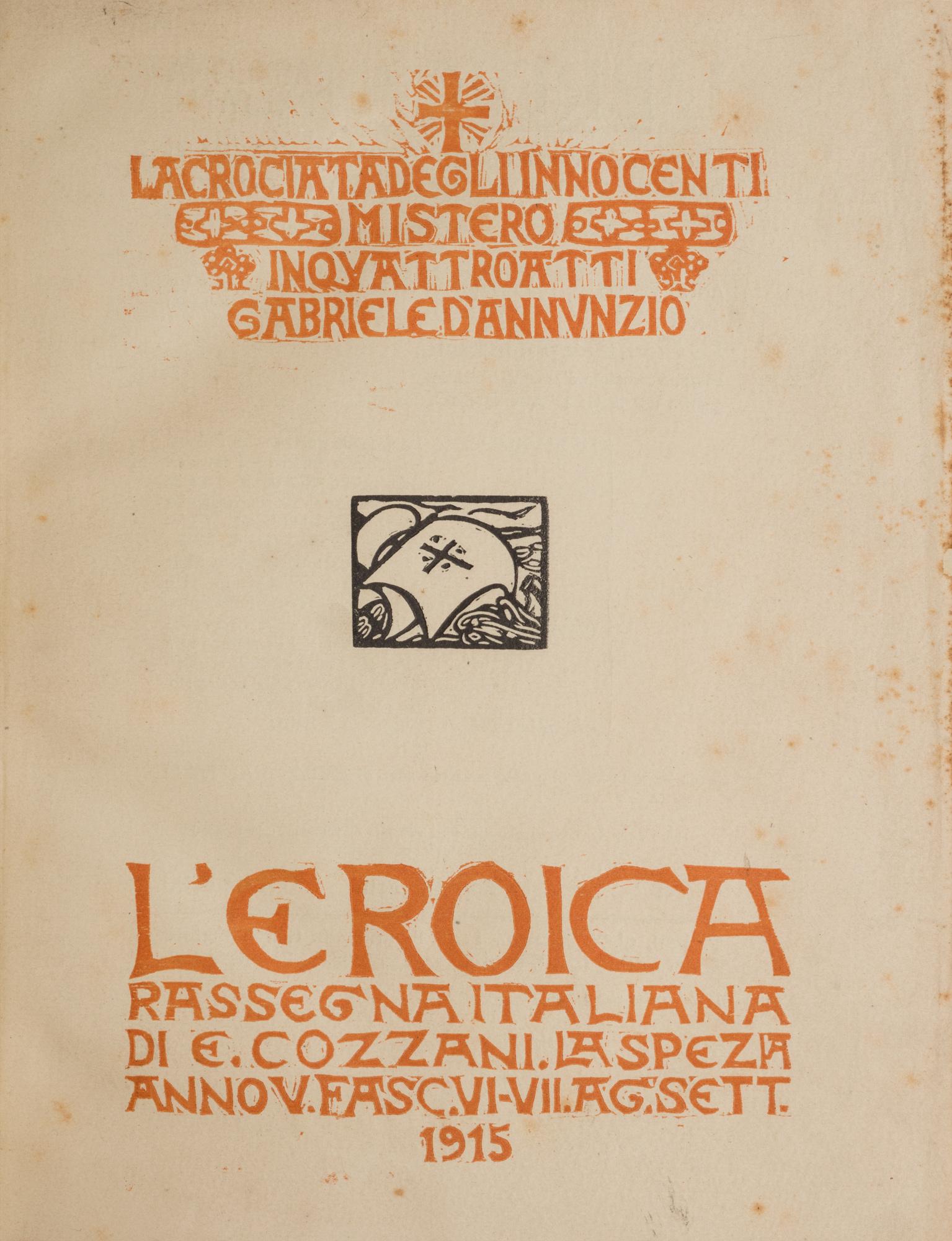 L'Eroica. Rassegna italiana di Ettore Cozzani. Fasc. VI-VII.-
