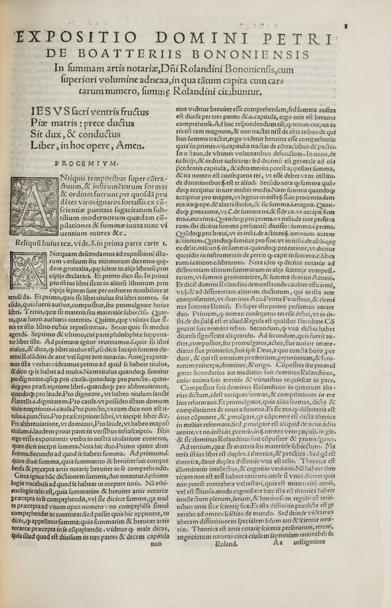 Summa totius artis notariae… cum novis et accuratissimis additionibus Petri Aldobrandini Florentini iureconsulti