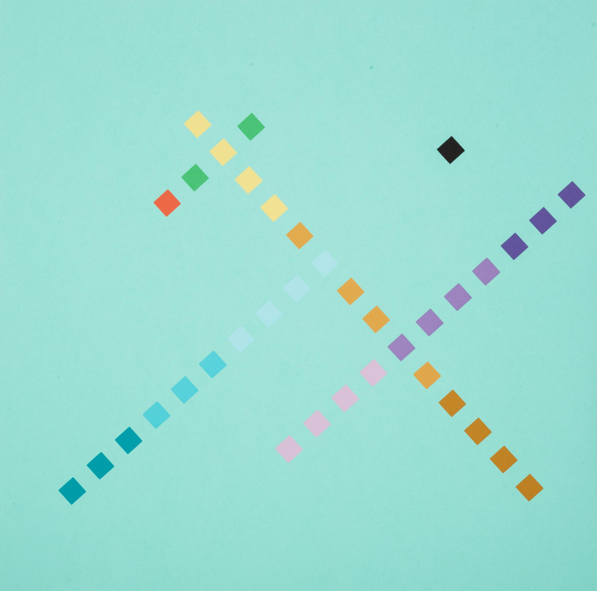 Colore – forma spaziocondizionanti:  l'immagine costruita