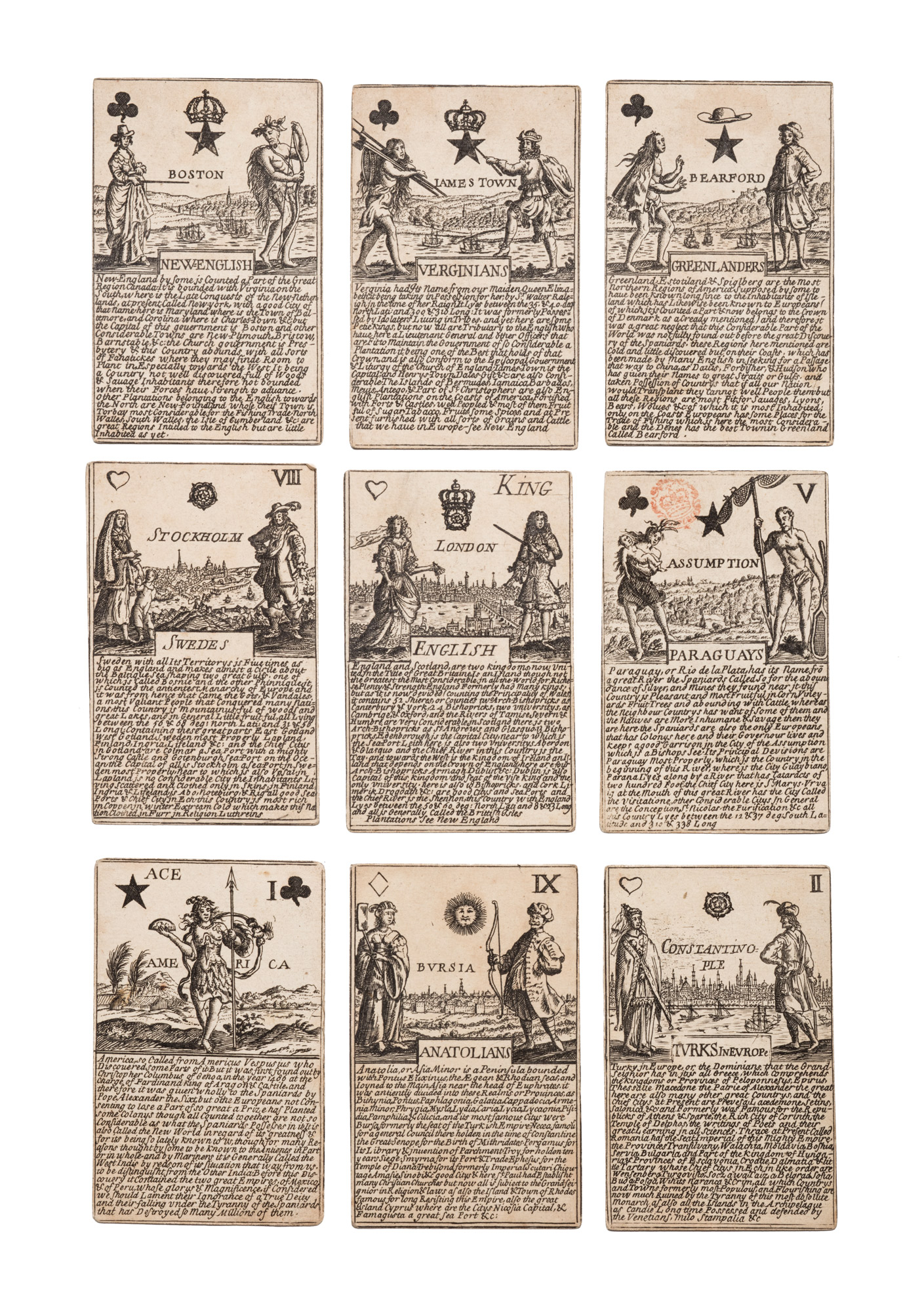 Mazzo di carte da gioco