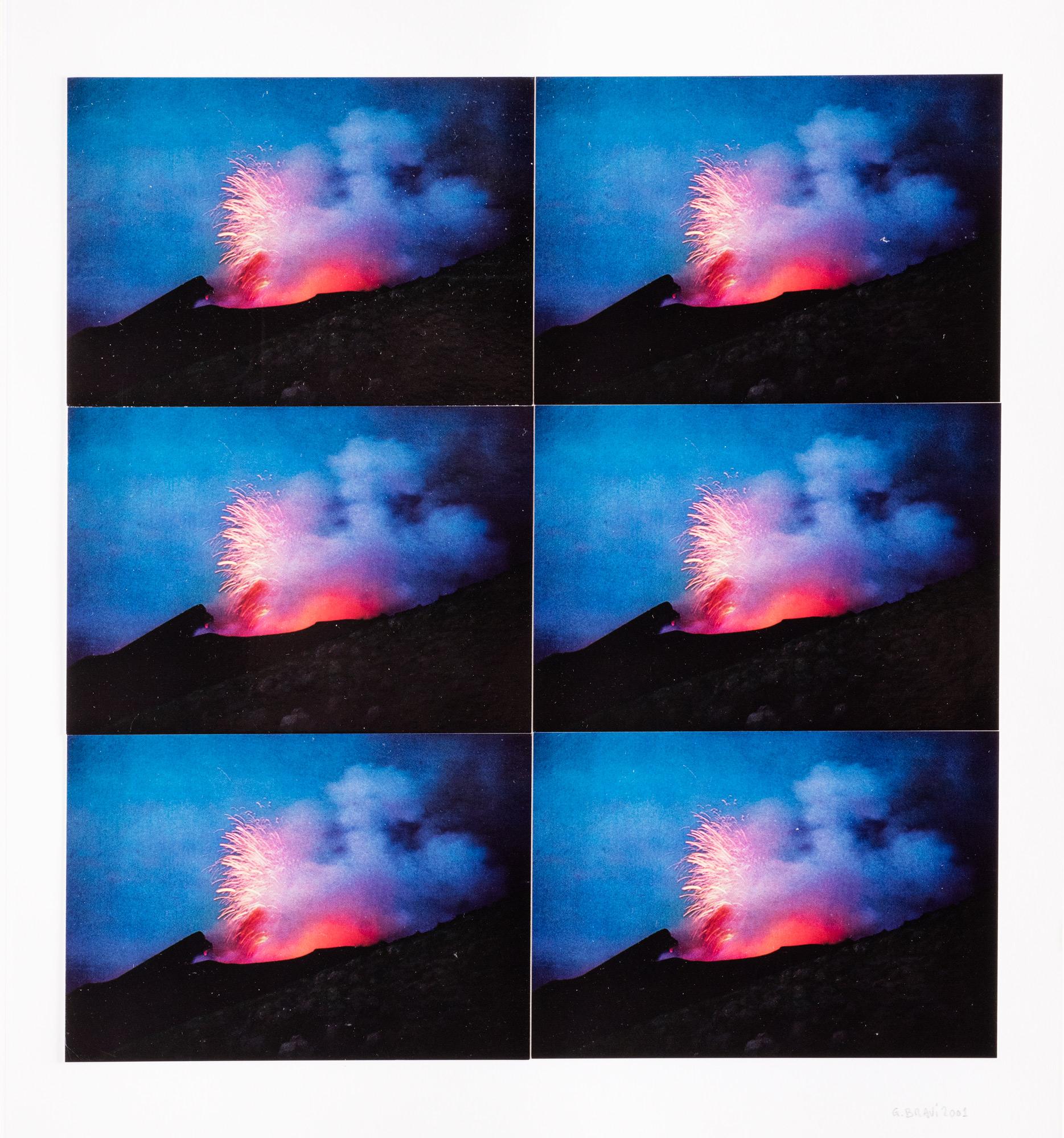 Vesuvio in ventisette paesaggi ripetuti