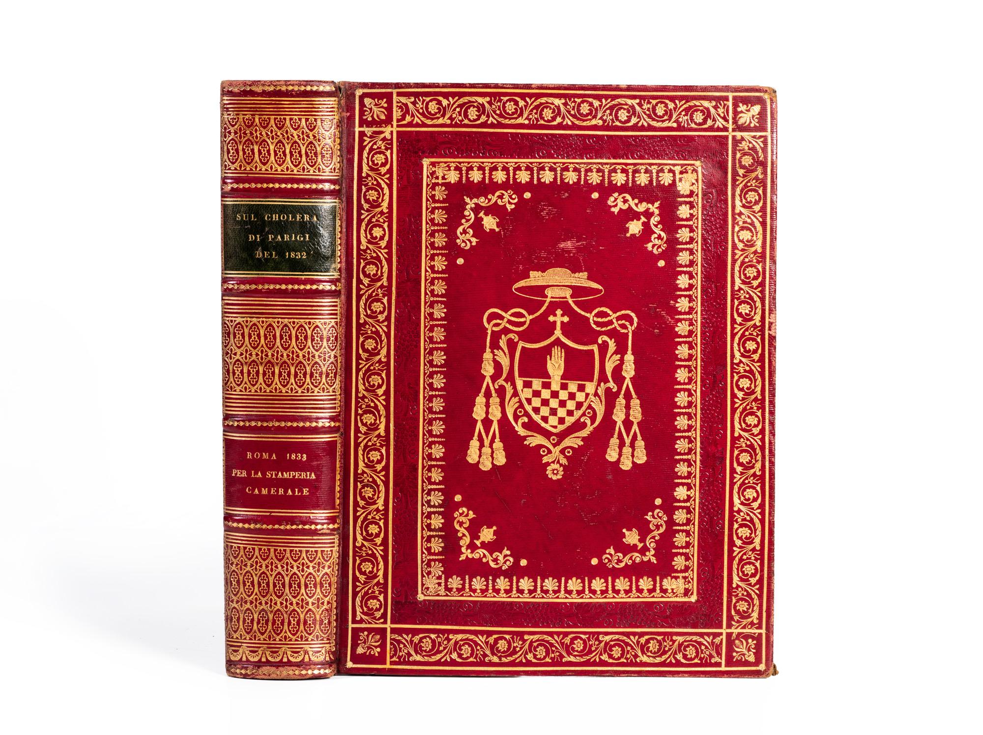 Storia medica del cholera indiano […] da […] Capello e […] Lupi cola inviati dal sommo pontefice Gregorio xvi nell'anno 1832