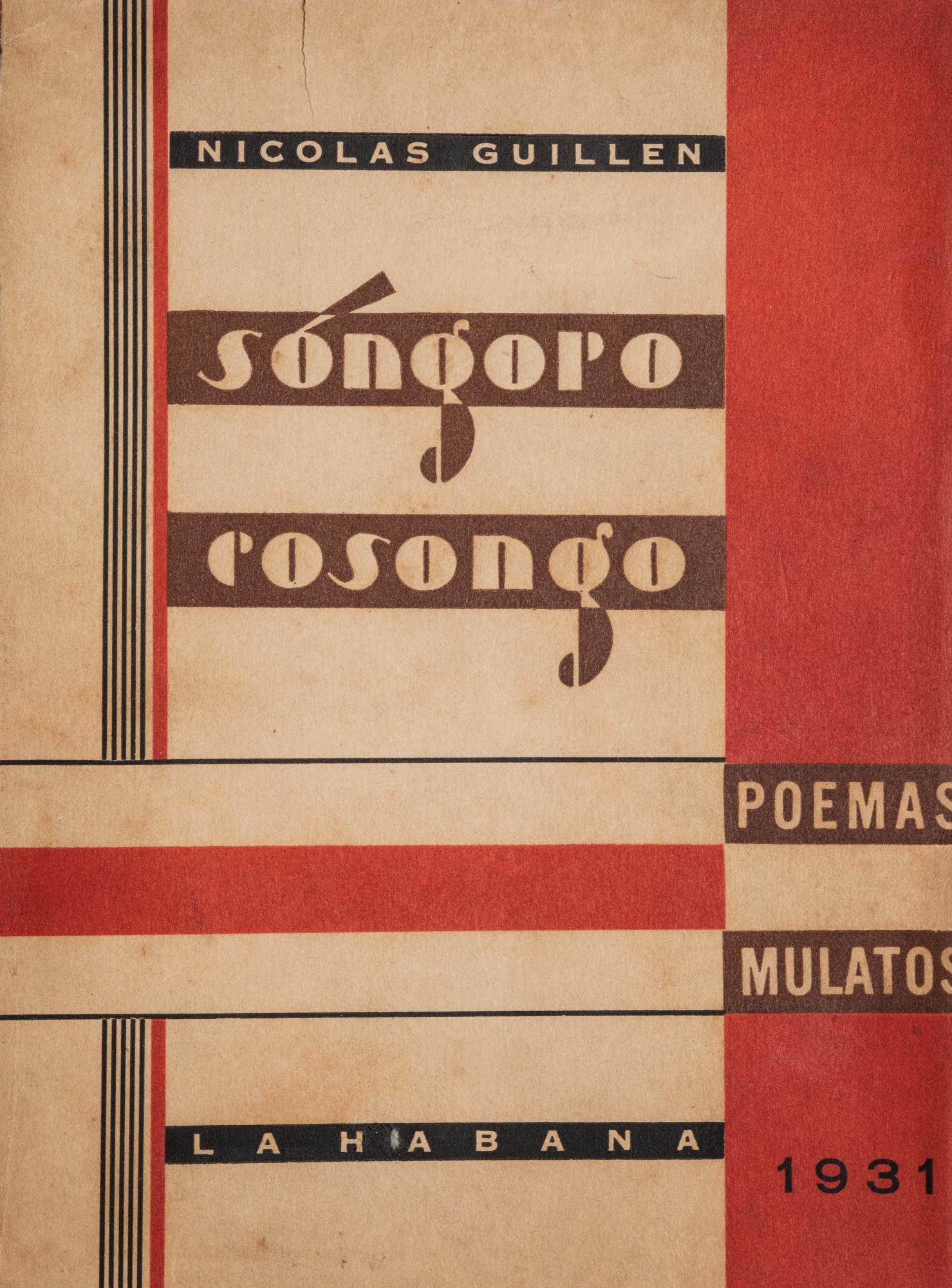 Songoro Cosongo. Poemas mulatos