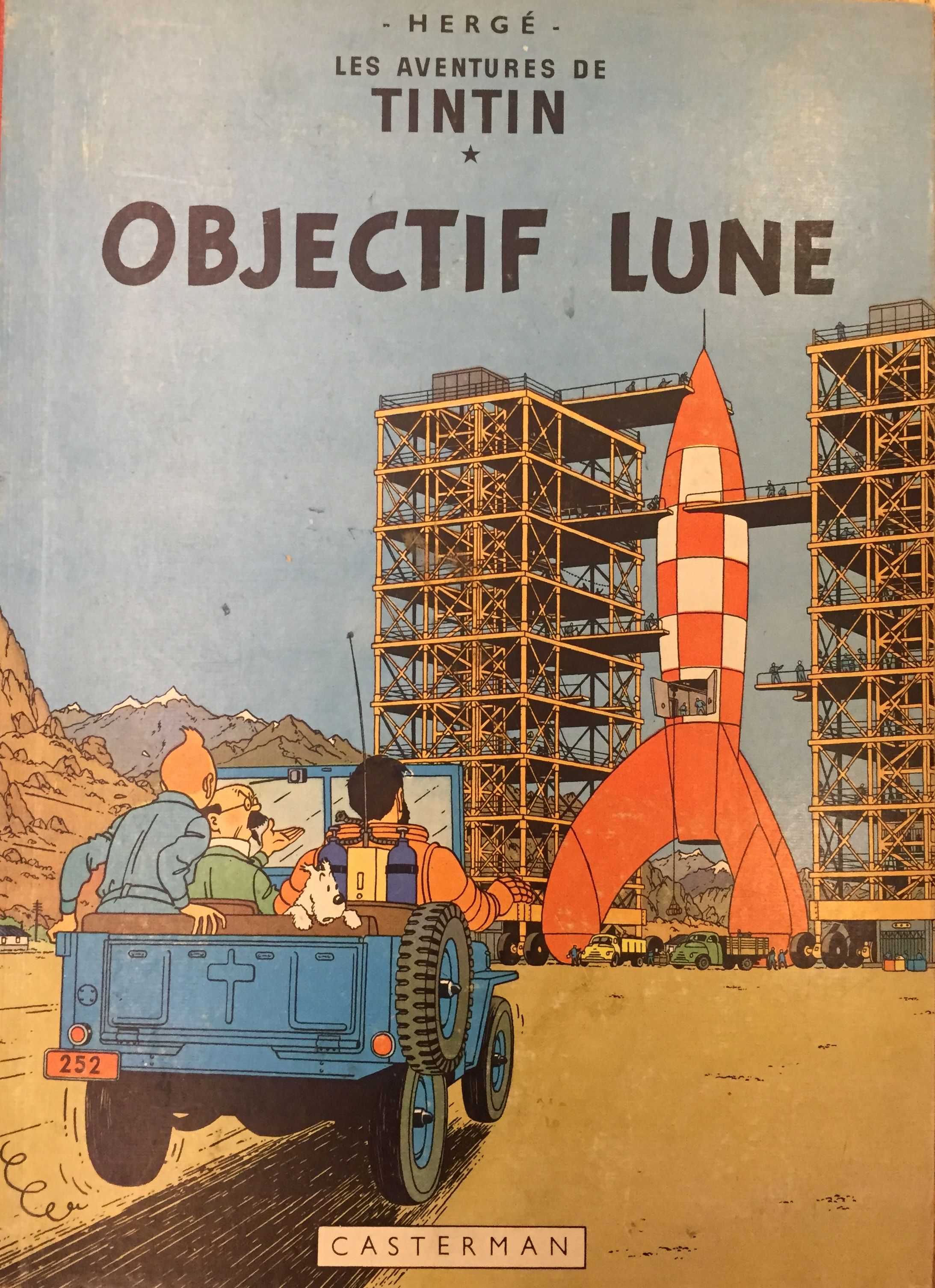 Le aventures de Tintin. Objectif lune